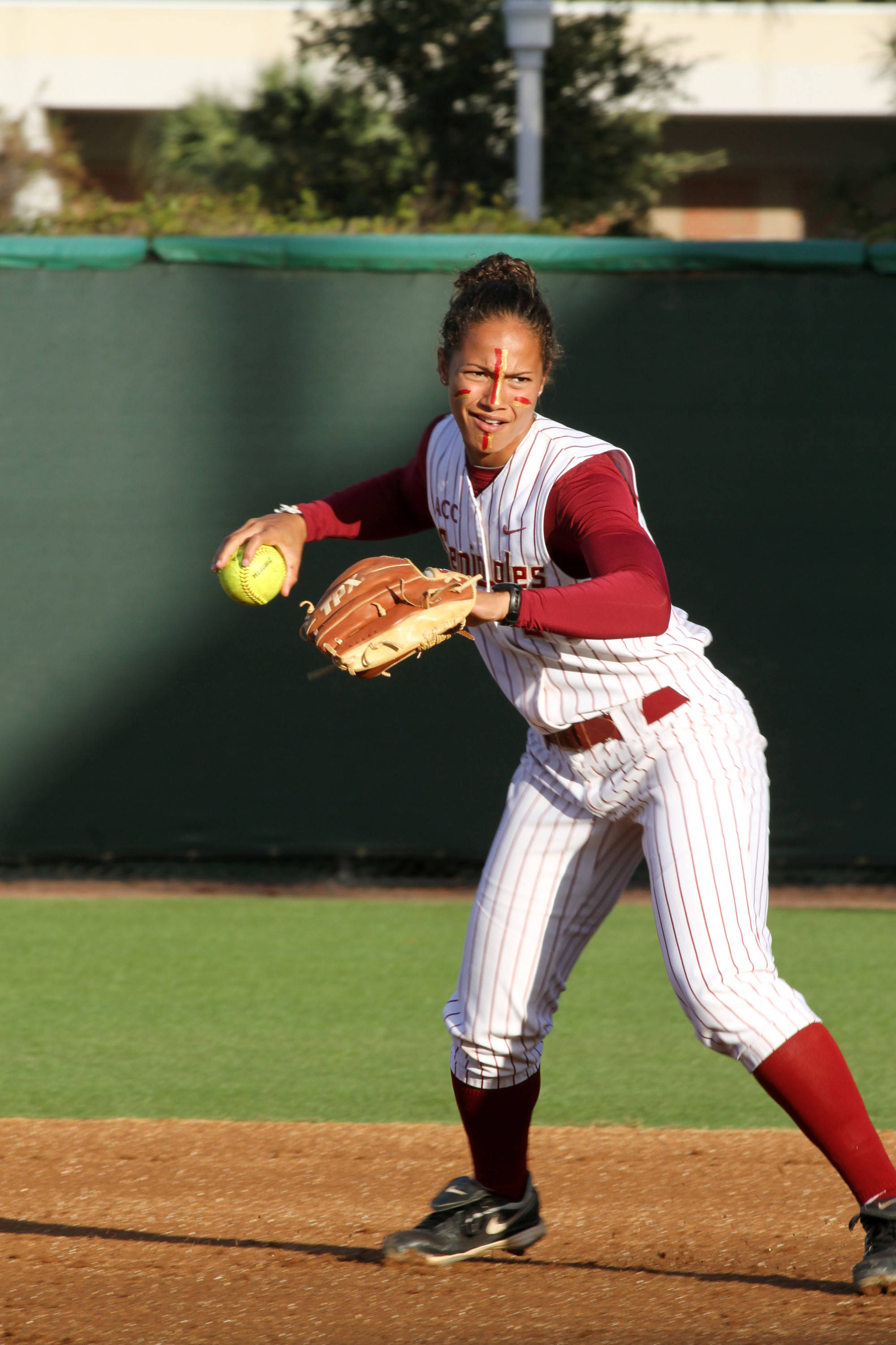 2012 FSU Softball Team Briana Hamilton (24)