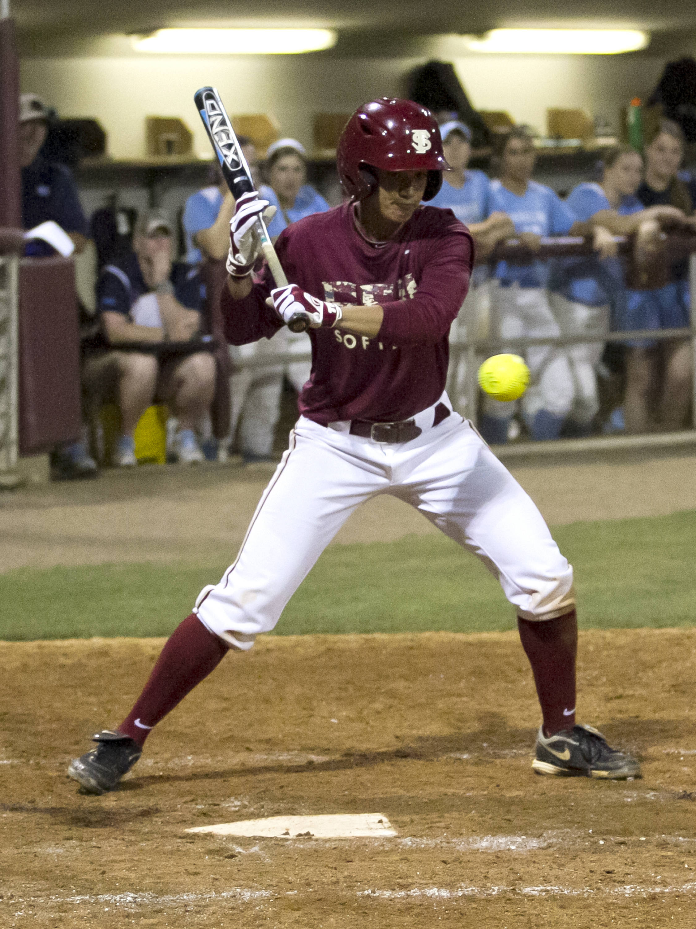 Briana Hamilton, FSU Softball vs NC,  04/02/2012