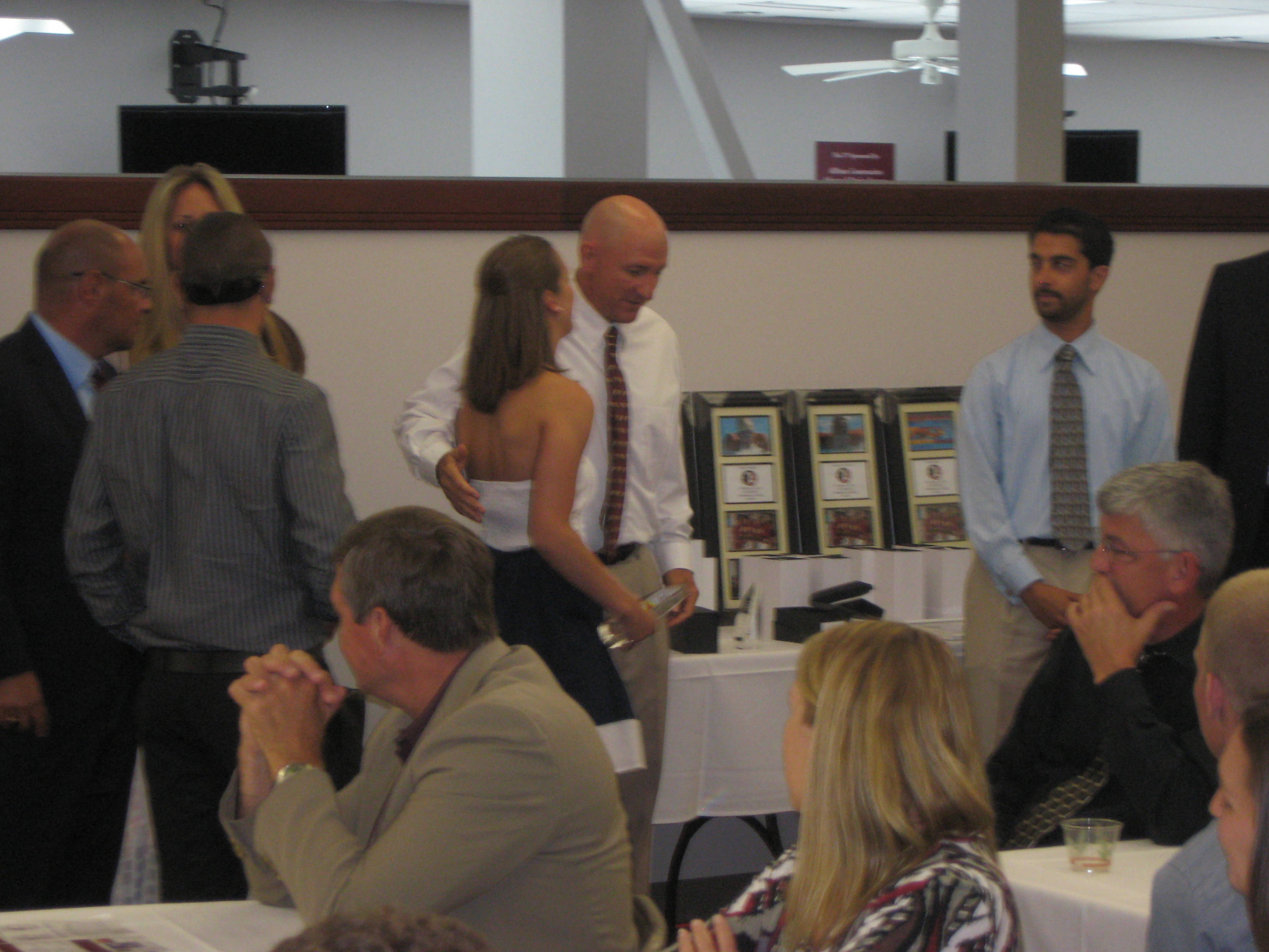2011 Swimming and Diving Banquet