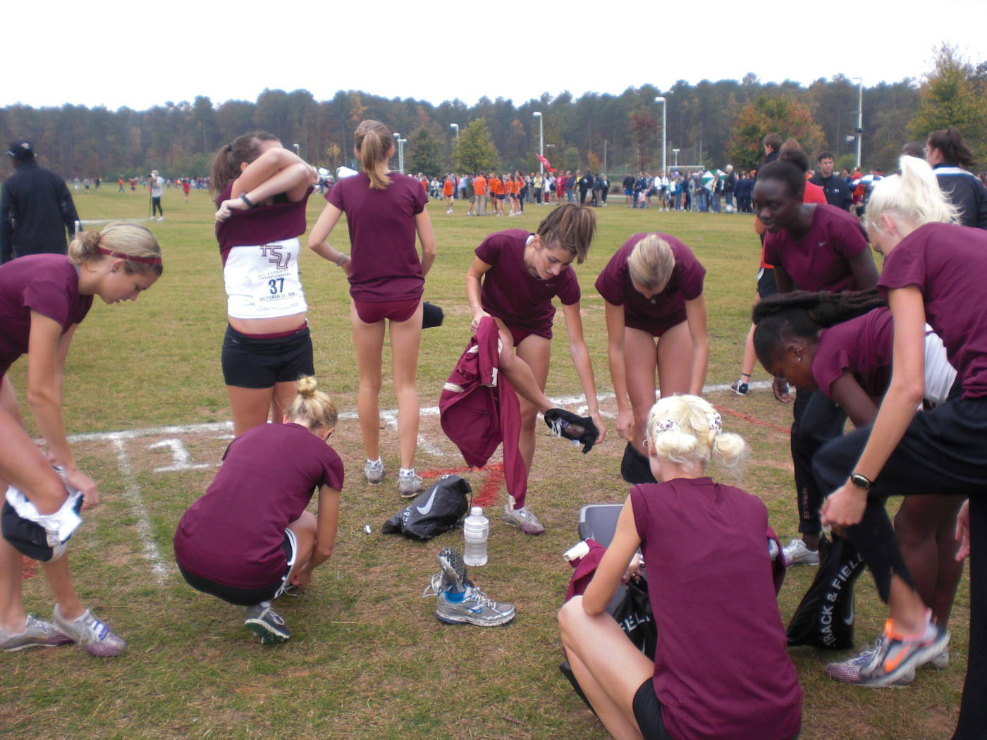 The 2009 ACC Cross Country Championships.