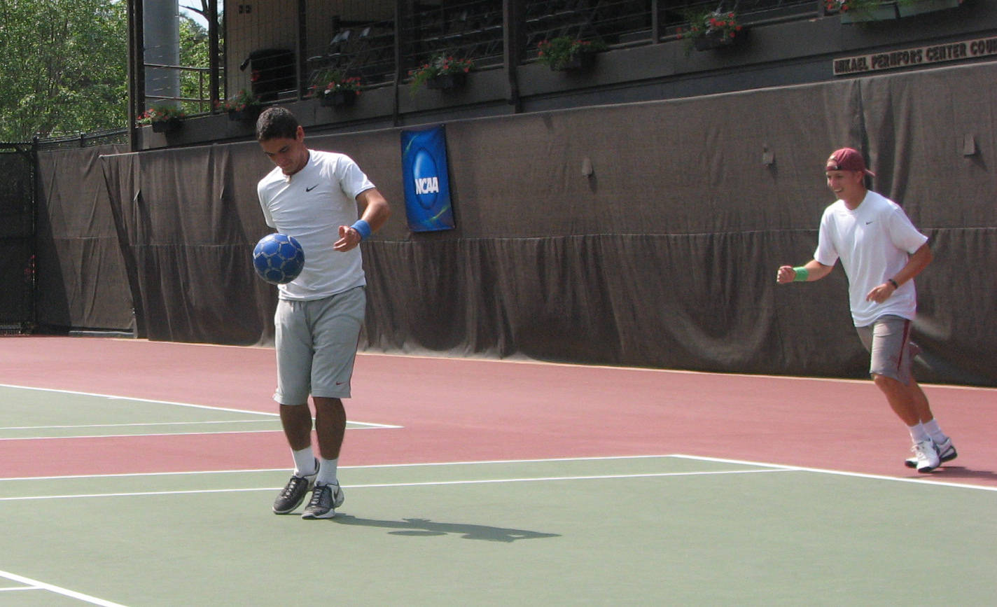 NCAA Men's Tennis Day One
