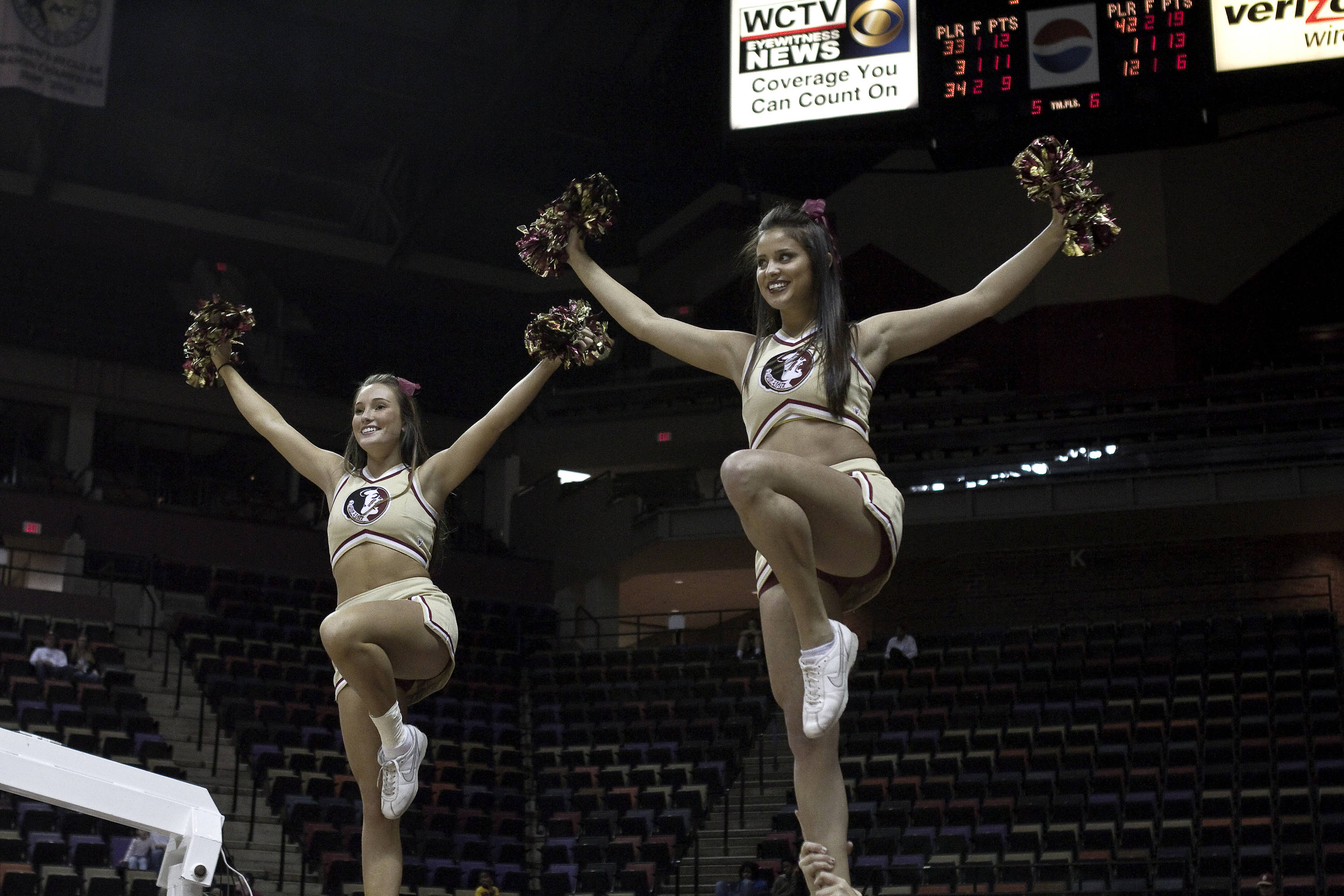 FSU vs Miami - 01/24/11 - FSU Cheerleaders