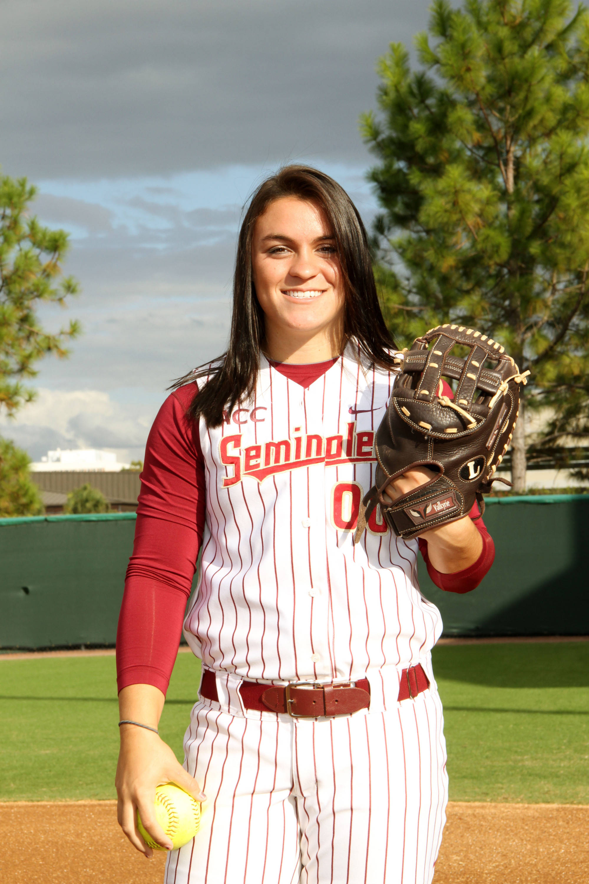 2012 FSU Softball Team Celeste Gomez (00)
