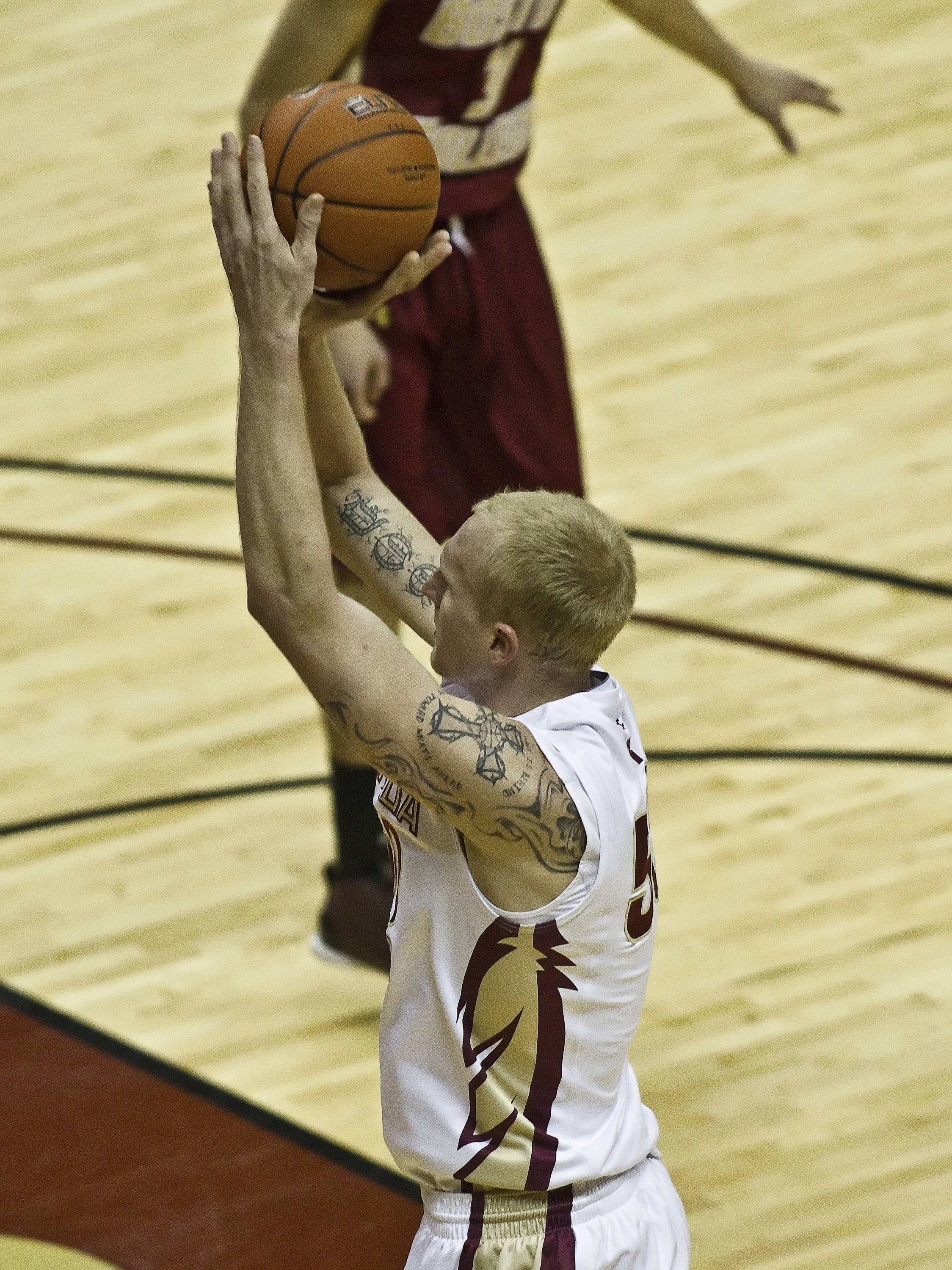 FSU vs Boston College - 01/22/11 - Jon Kreft (50)