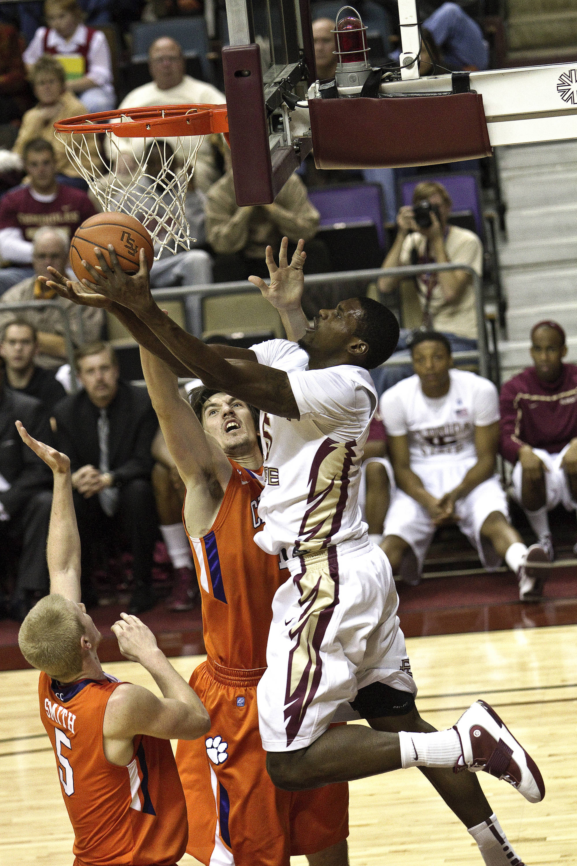 FSU vs Clemson - 12/12/2010 - Bernard James (5)