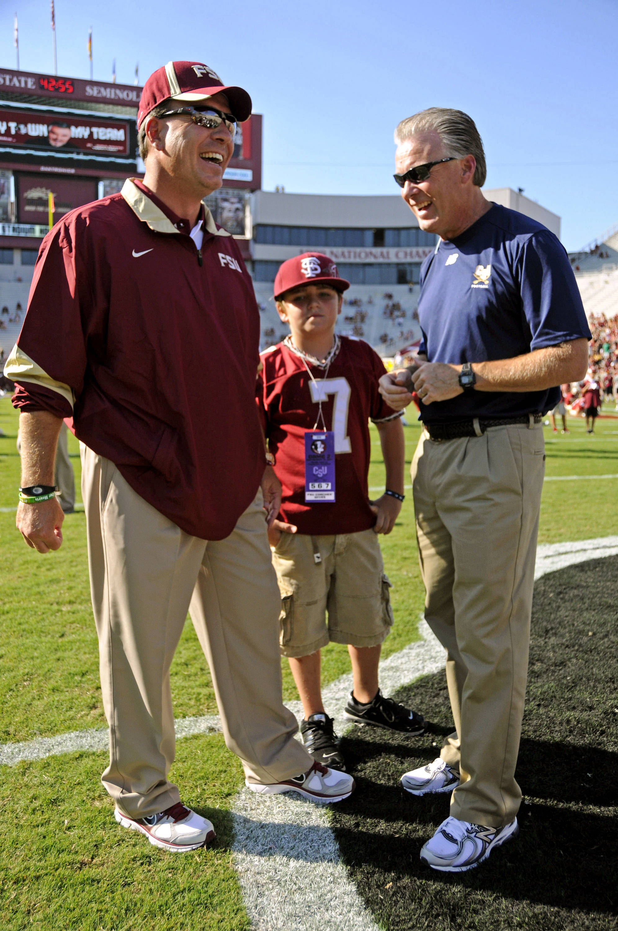 Jimbo Fisher, Trey Fisher