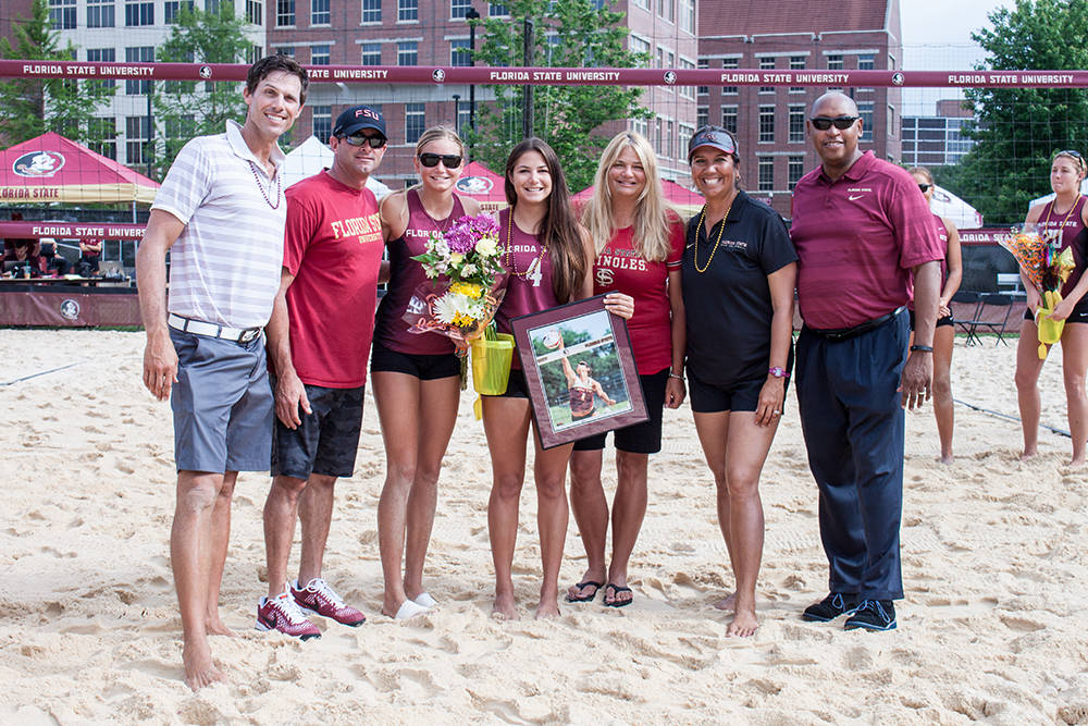 Sand Volleyball Senior Day