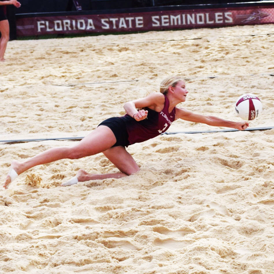 Senior Day at FSU Sand Volleyball Pairs Event