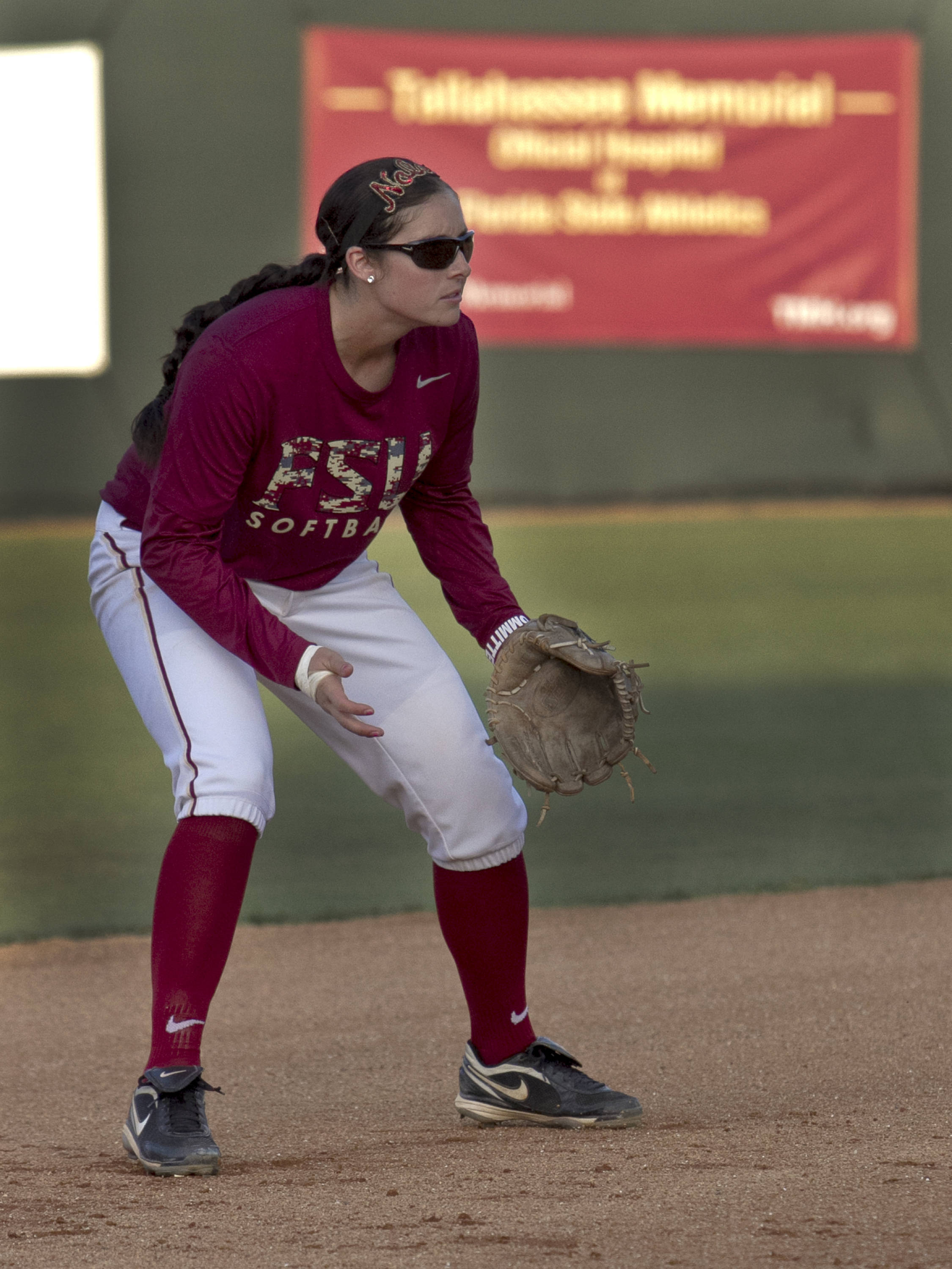 Maddie O'Brien, FSU Softball vs NC,  04/02/2012