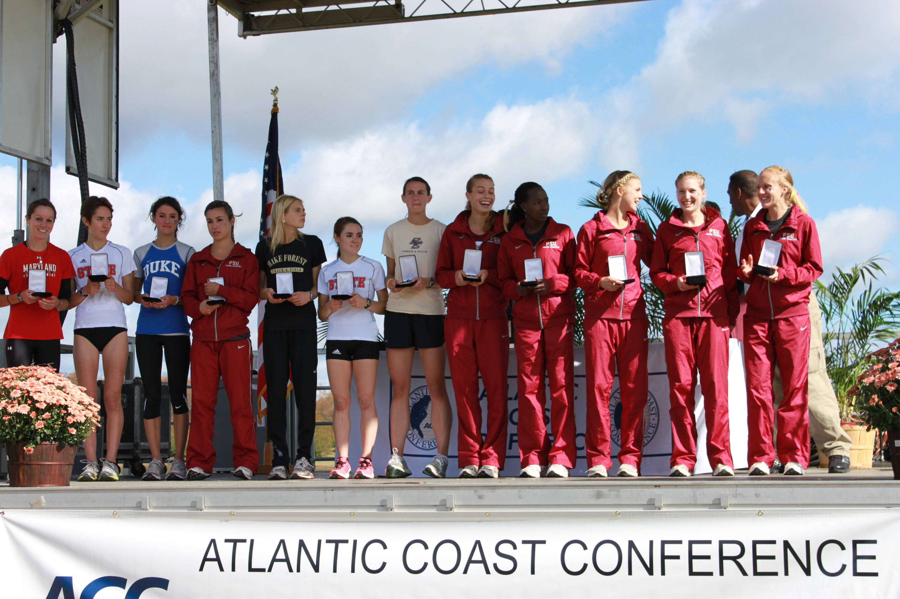 The FSU women were well represented on the ACC XC Championship podium in 2011