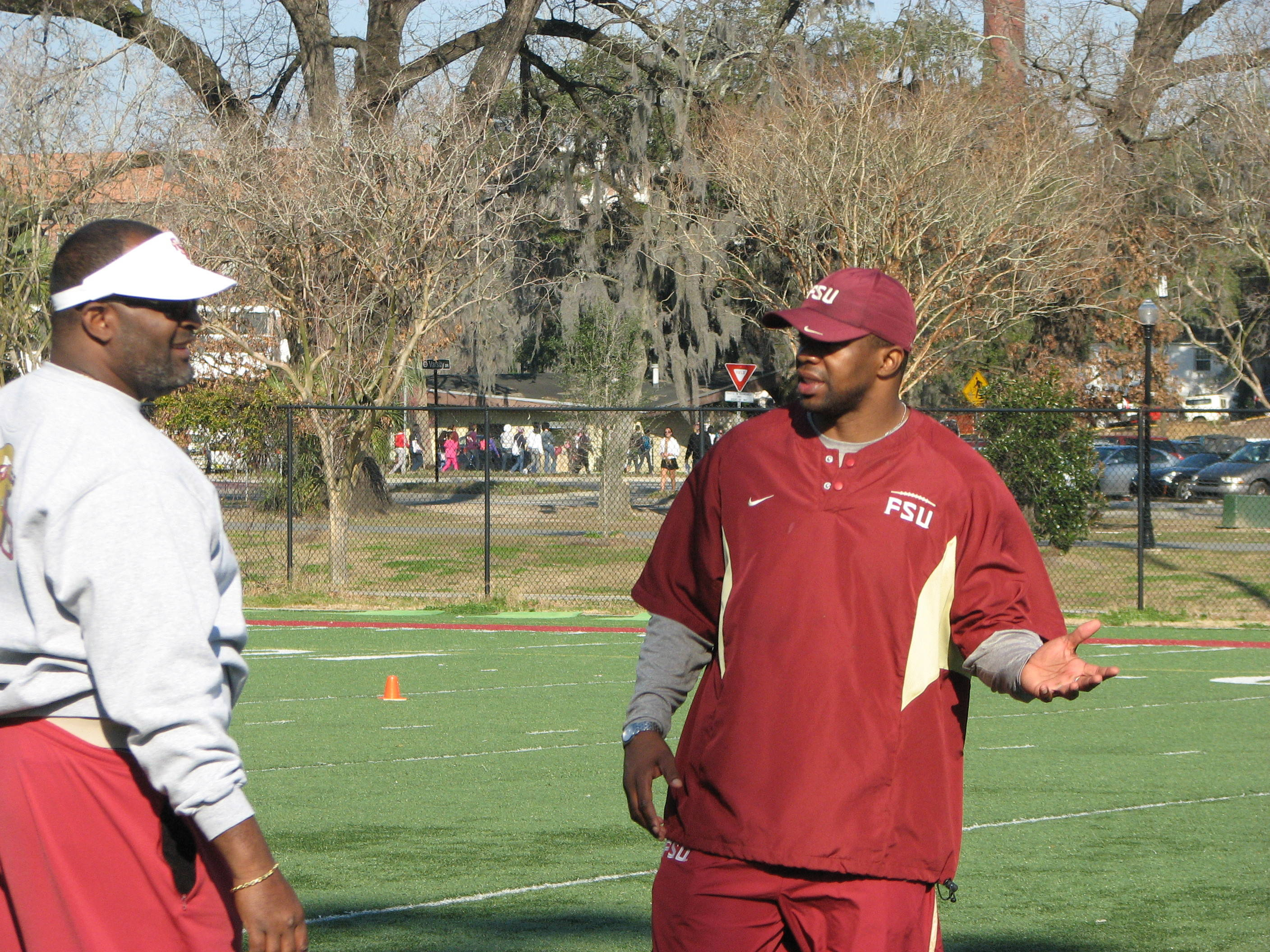 Odell Haggins and Dameyune Craig