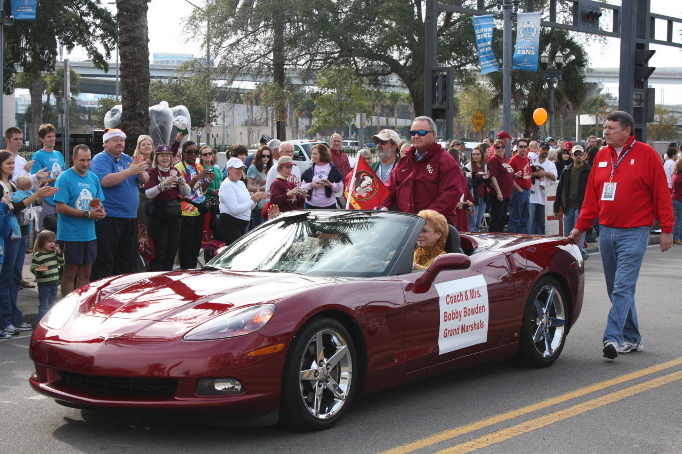 Winn-Dixie Hometown Gator Bowl Parade#$%^Florida State head coach Bobby Bowden and wife Ann Bowden served as the Grand Marshals of the parade.