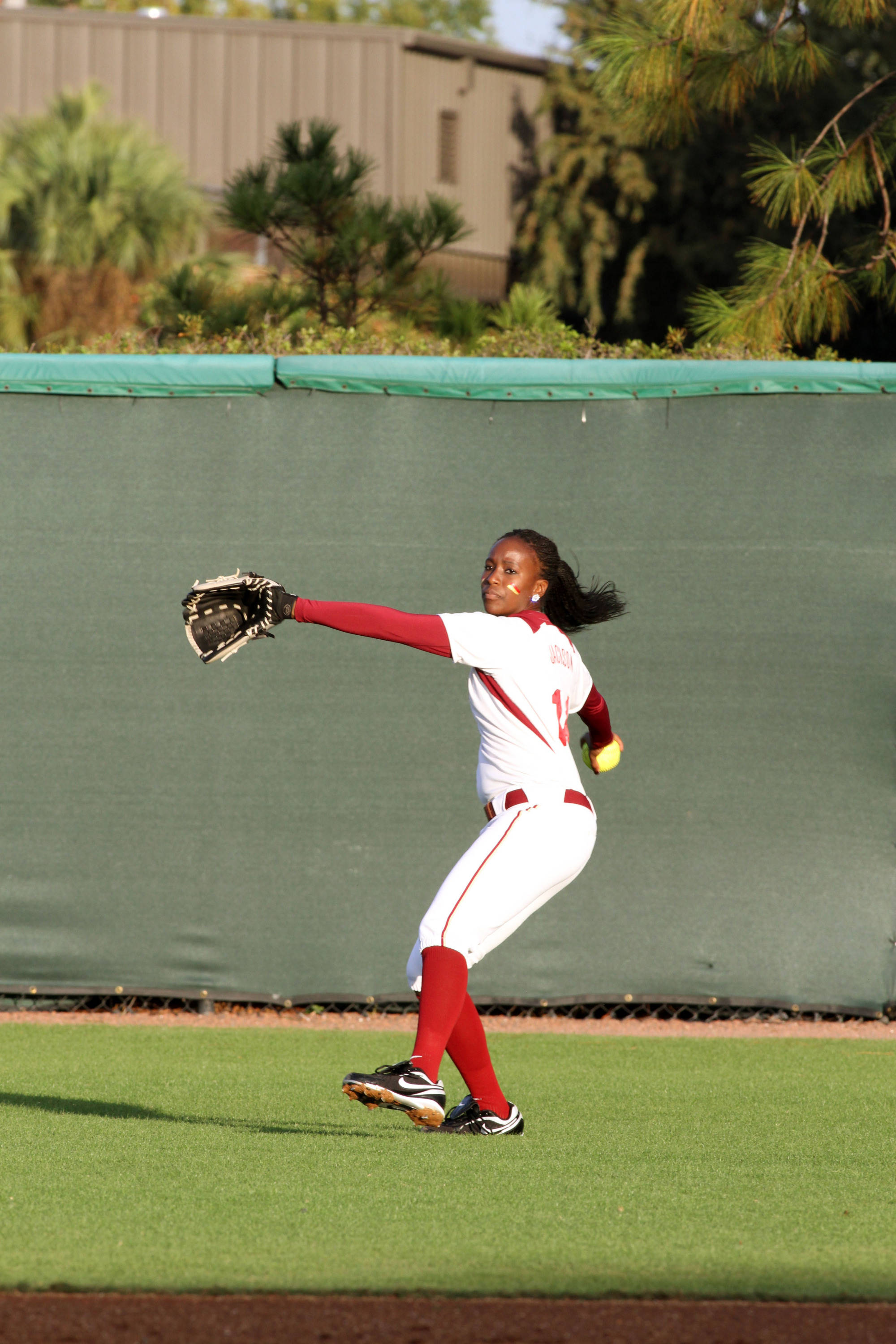 2012 FSU Softball Team Shayla Jackson (14)