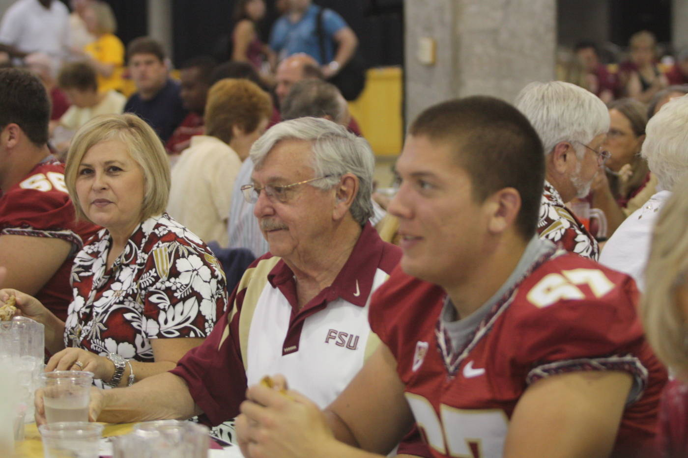 Andrew Datko at the 2009 Football Luncheon.