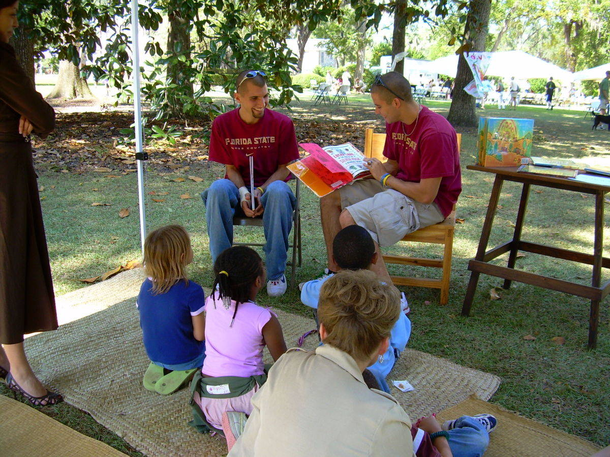 Hispanic Heritage Month - Reading program at Mission San Luis.