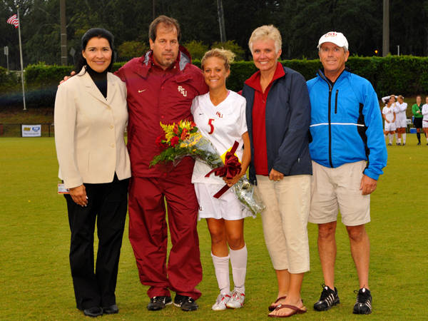 Kellie Elliott and Mark Krikorian with Sarah Wagenfuhr and her mom and dad.