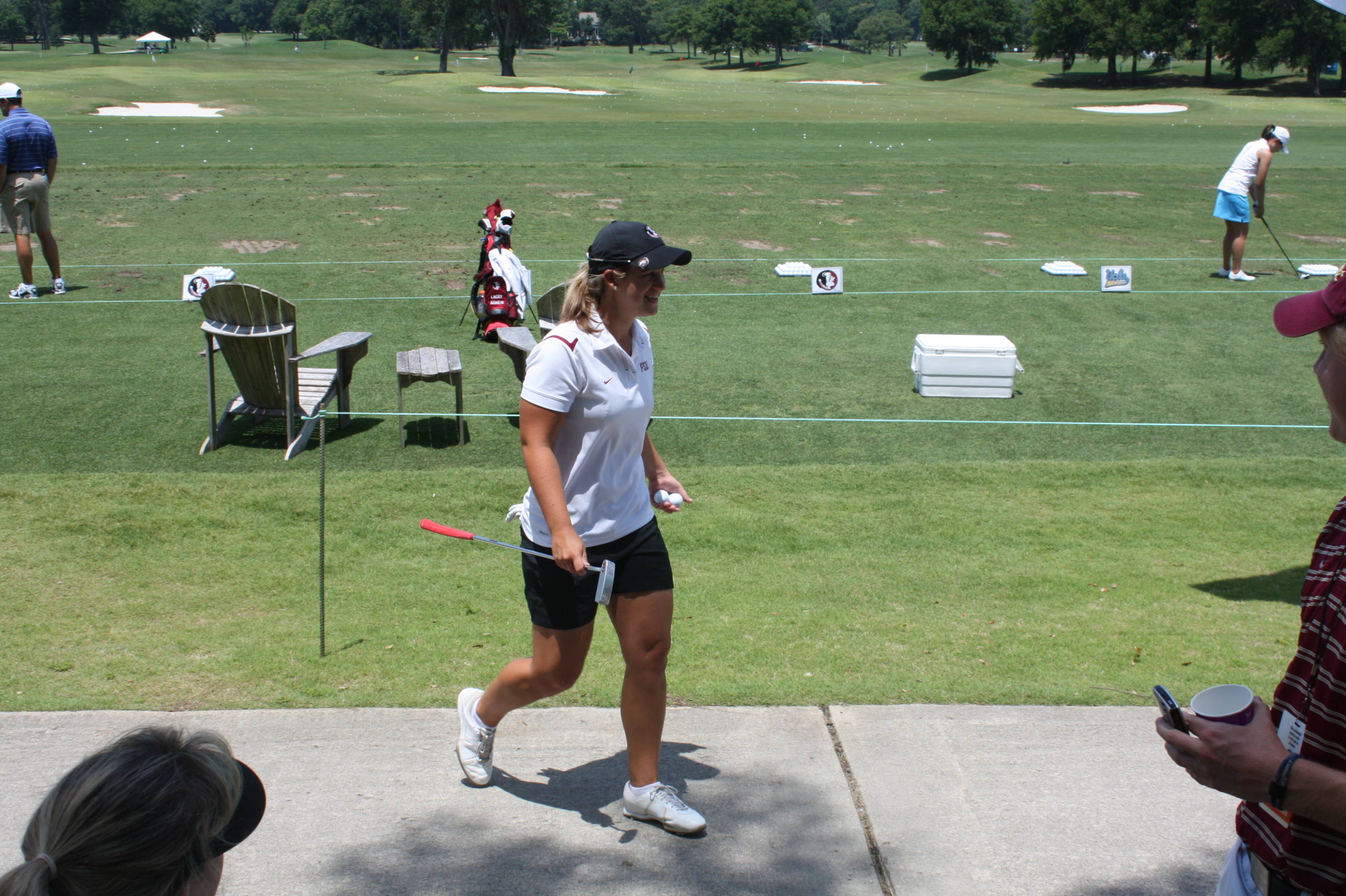 2010 NCAA Women's Golf -- Day 5