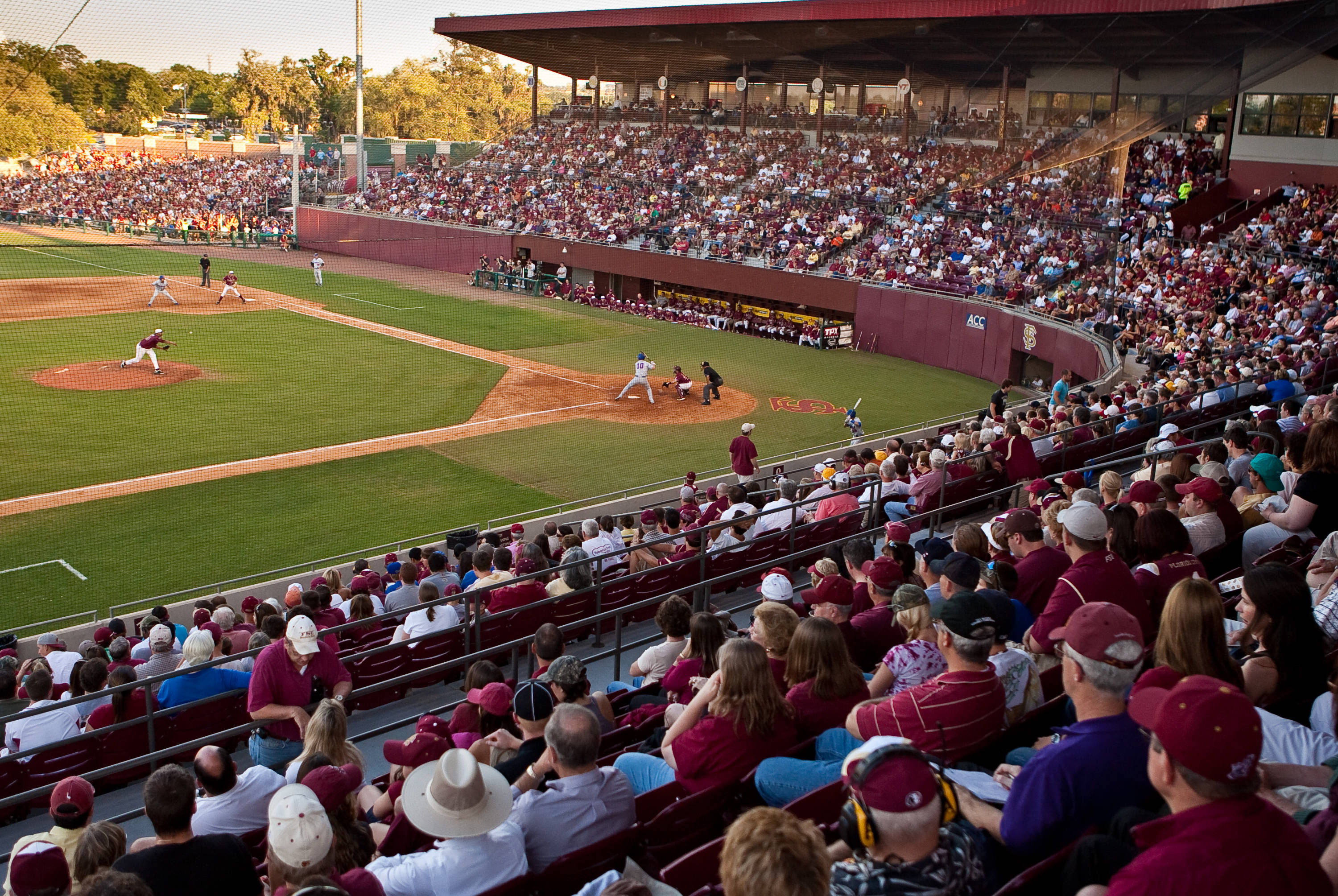 Sell out crowd at Dick Howser Stadium