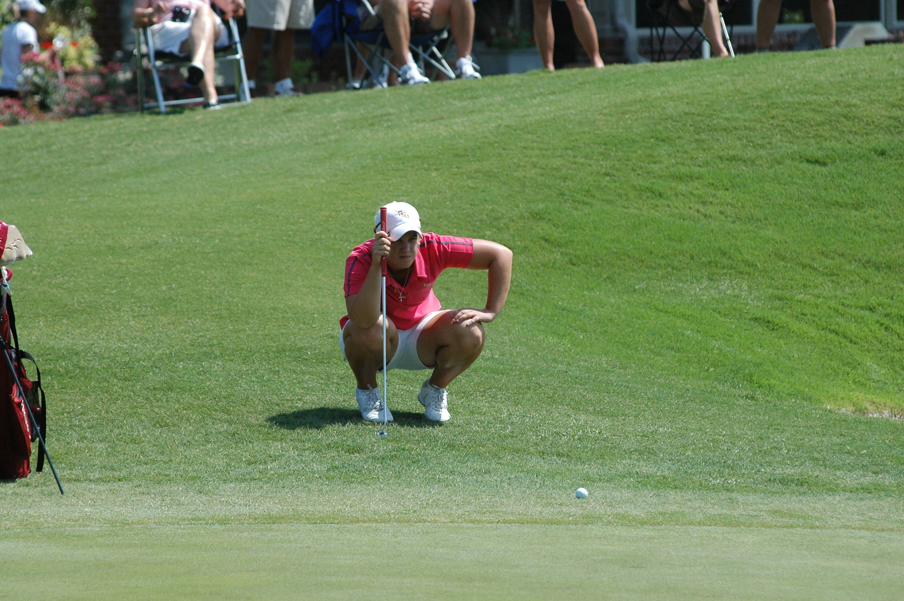 Lacey Agnew - NCAA Women's Golf 2010 Day 4