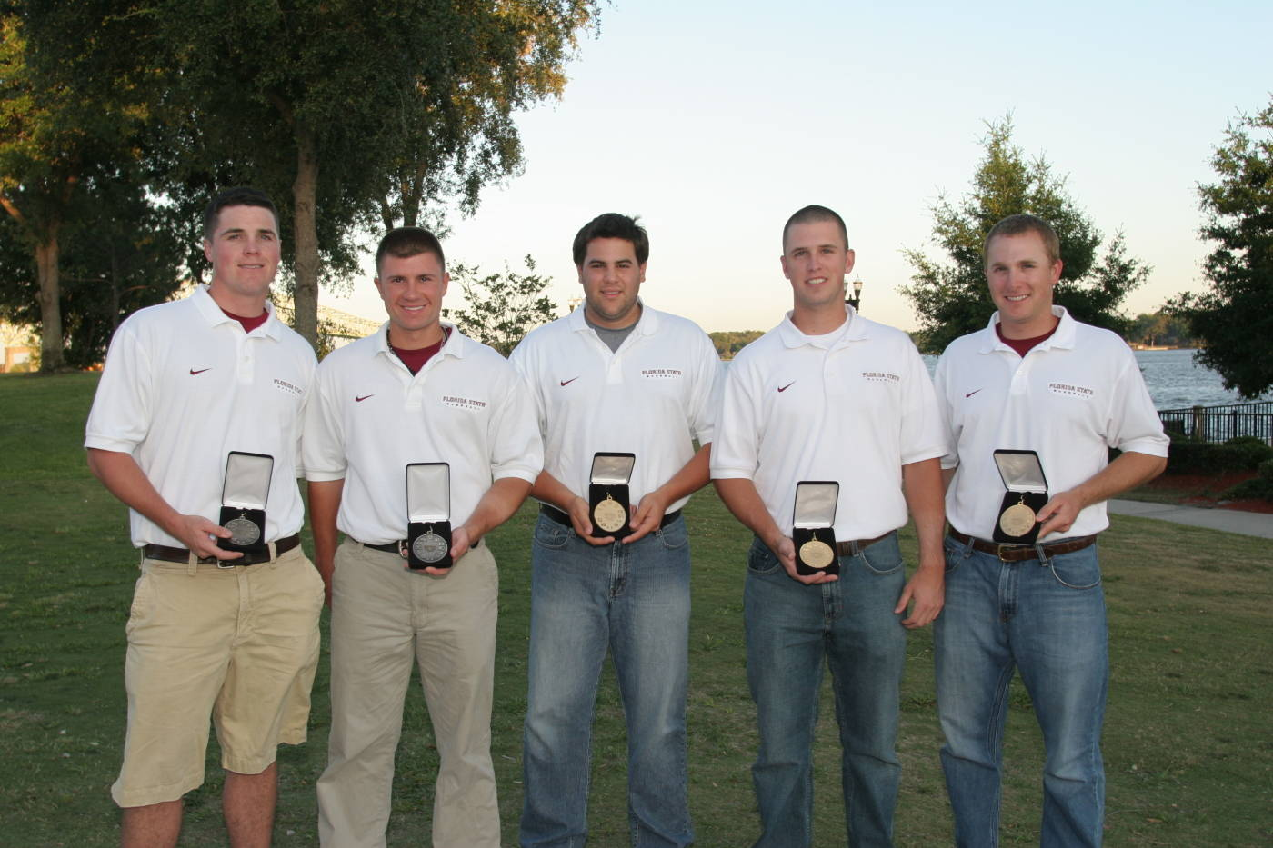 2008 Florida State All-ACC honorees.