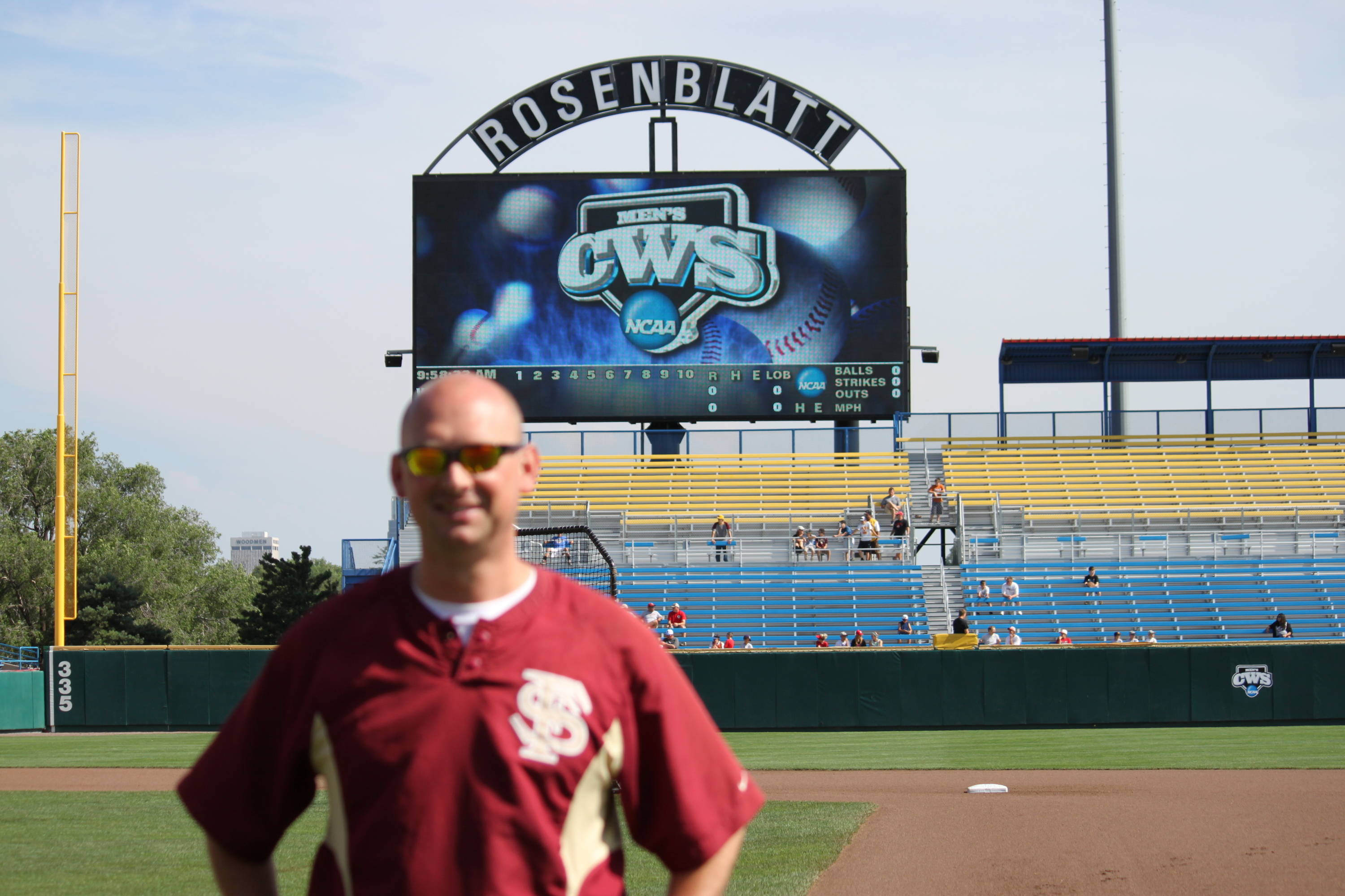 College World Series Day 2