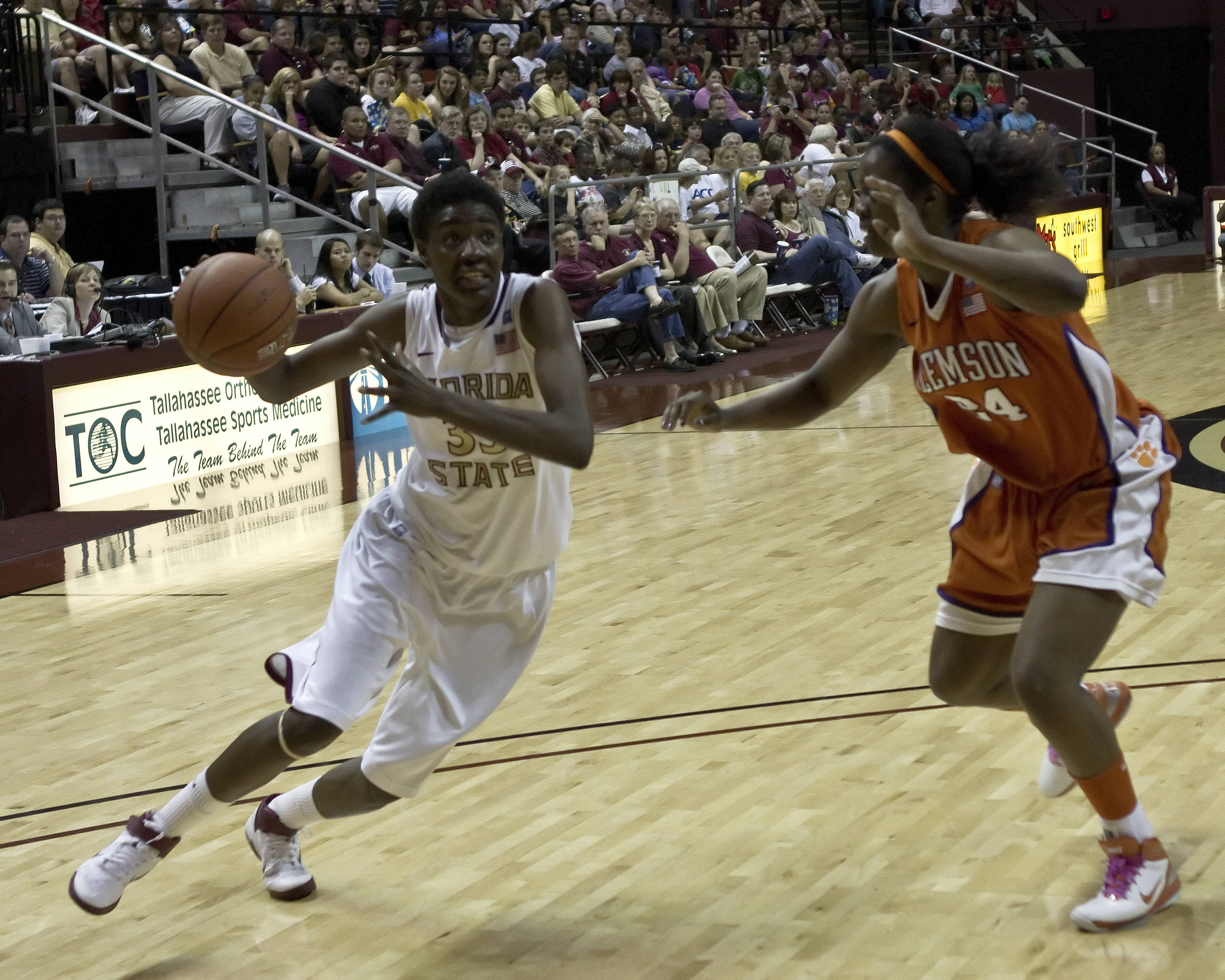 FSU vs Clemson- 02//27/11 - Natasha Howard (33)