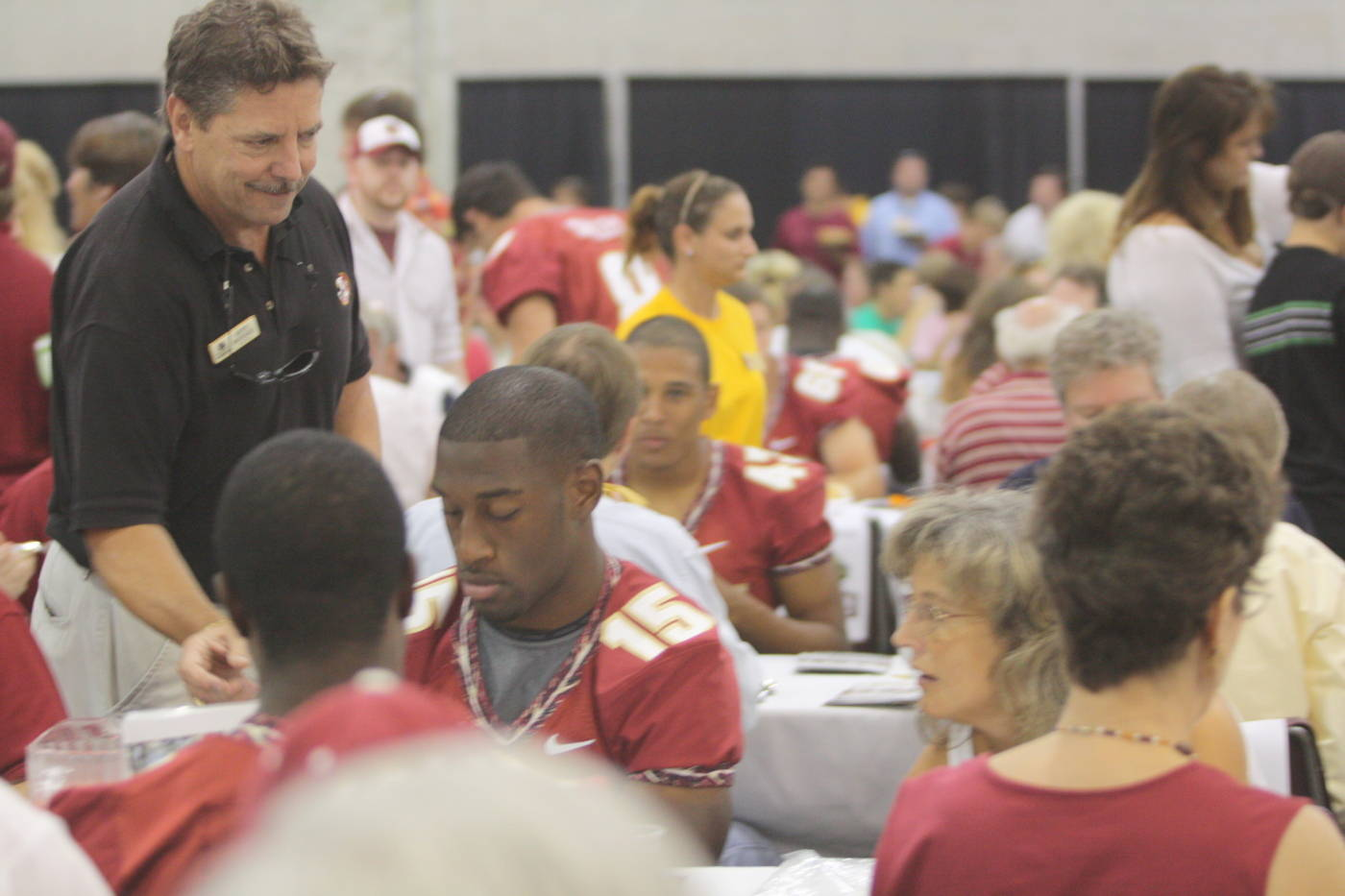 It was a packed house at the 2009 Football Luncheon.