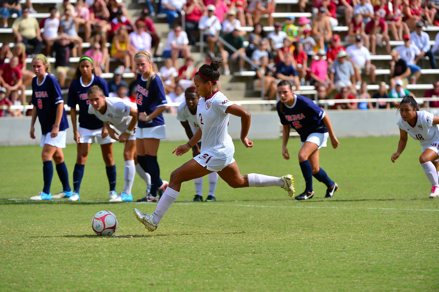 Ines Jaurena attempts the pk in the first overtime.