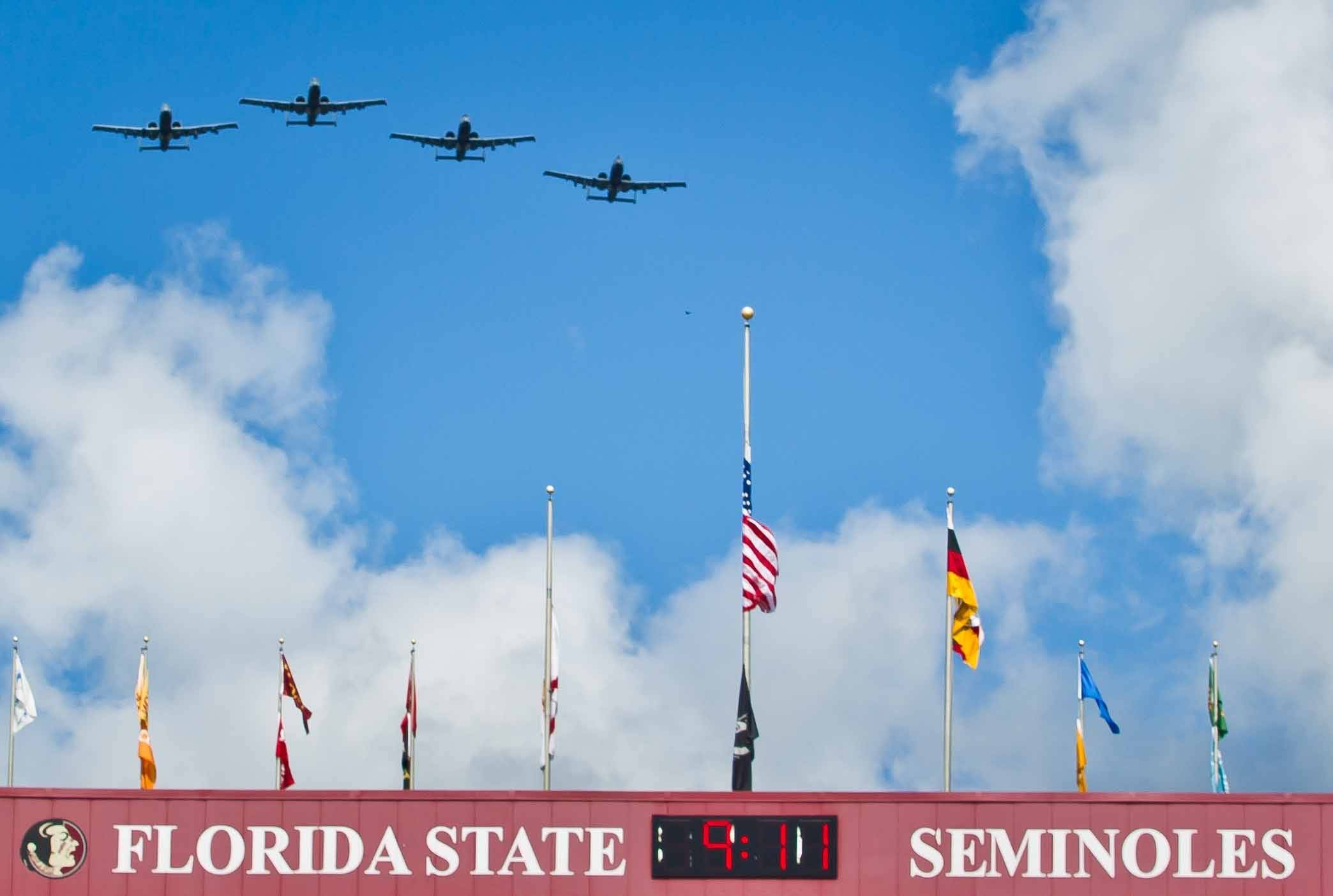 Air Force A10 Flyover