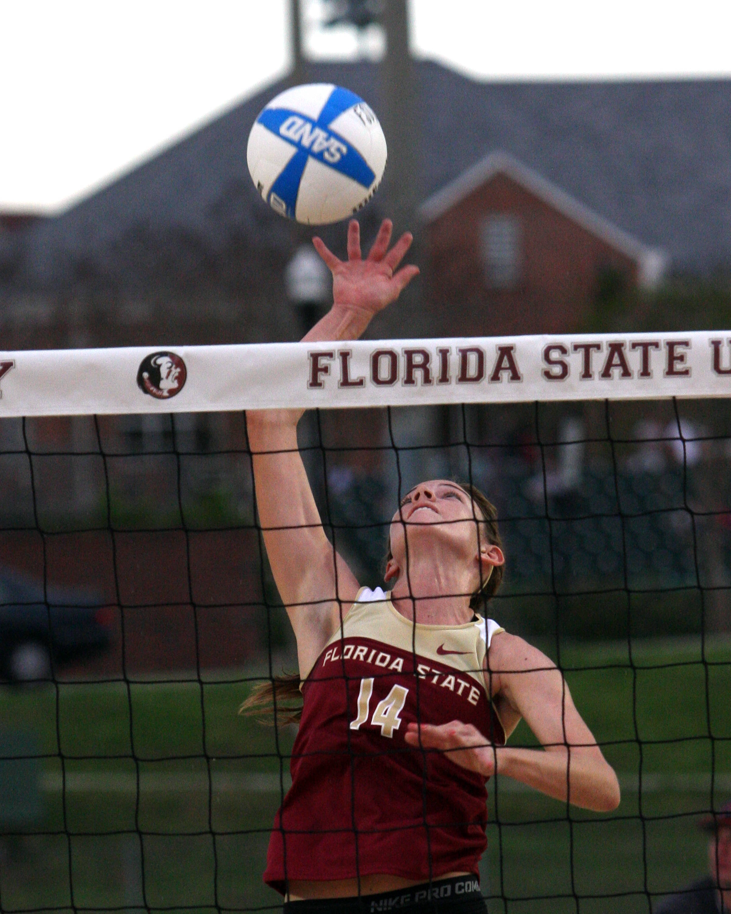 Mallory Kiley (14), FSU VS Tulane,  03/13/2012
