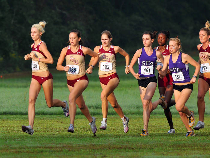 FSU Cross Country Invitational (photo by Larry Novey)