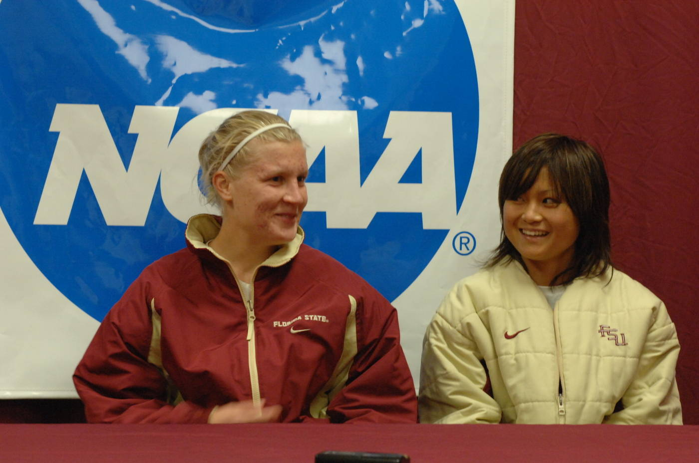Sanna and Mami talk about the win in the postgame press conference