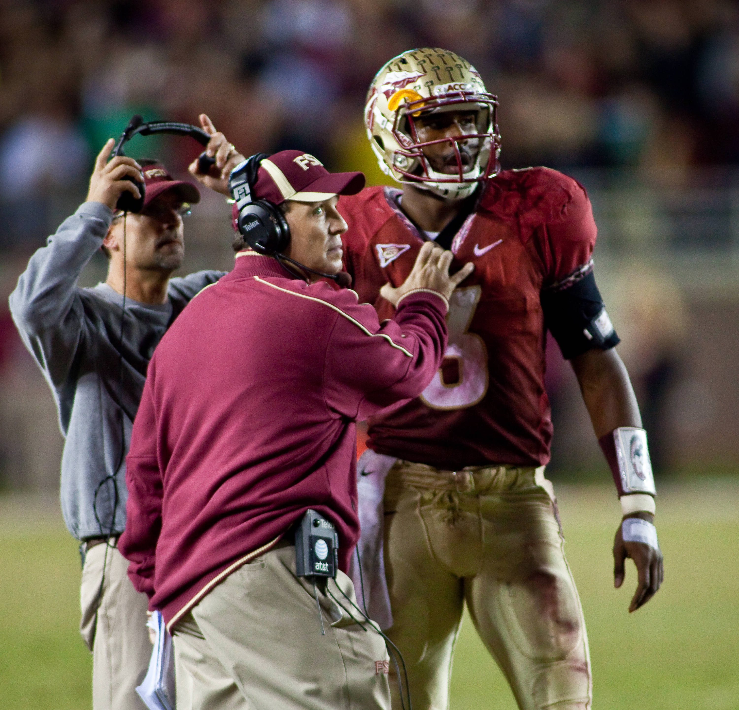 Ej Manuel and Jimbo Fisher
