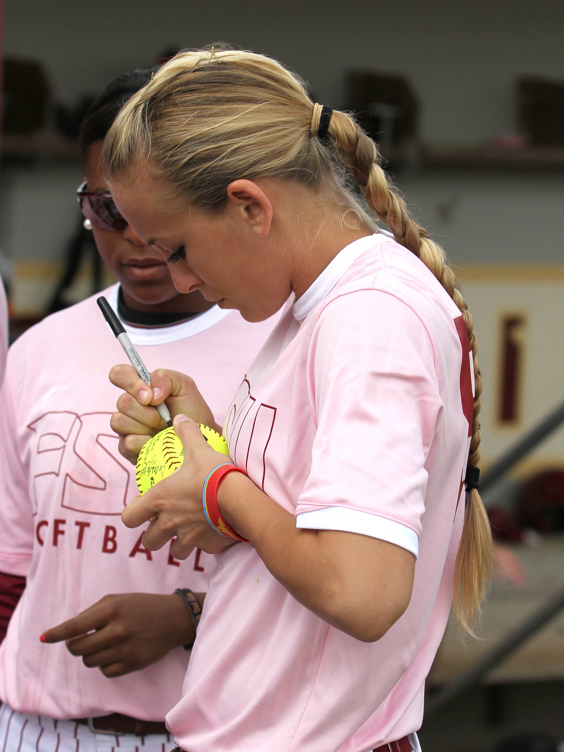 Monica Perry, FSU vs GT,  04/15/2012