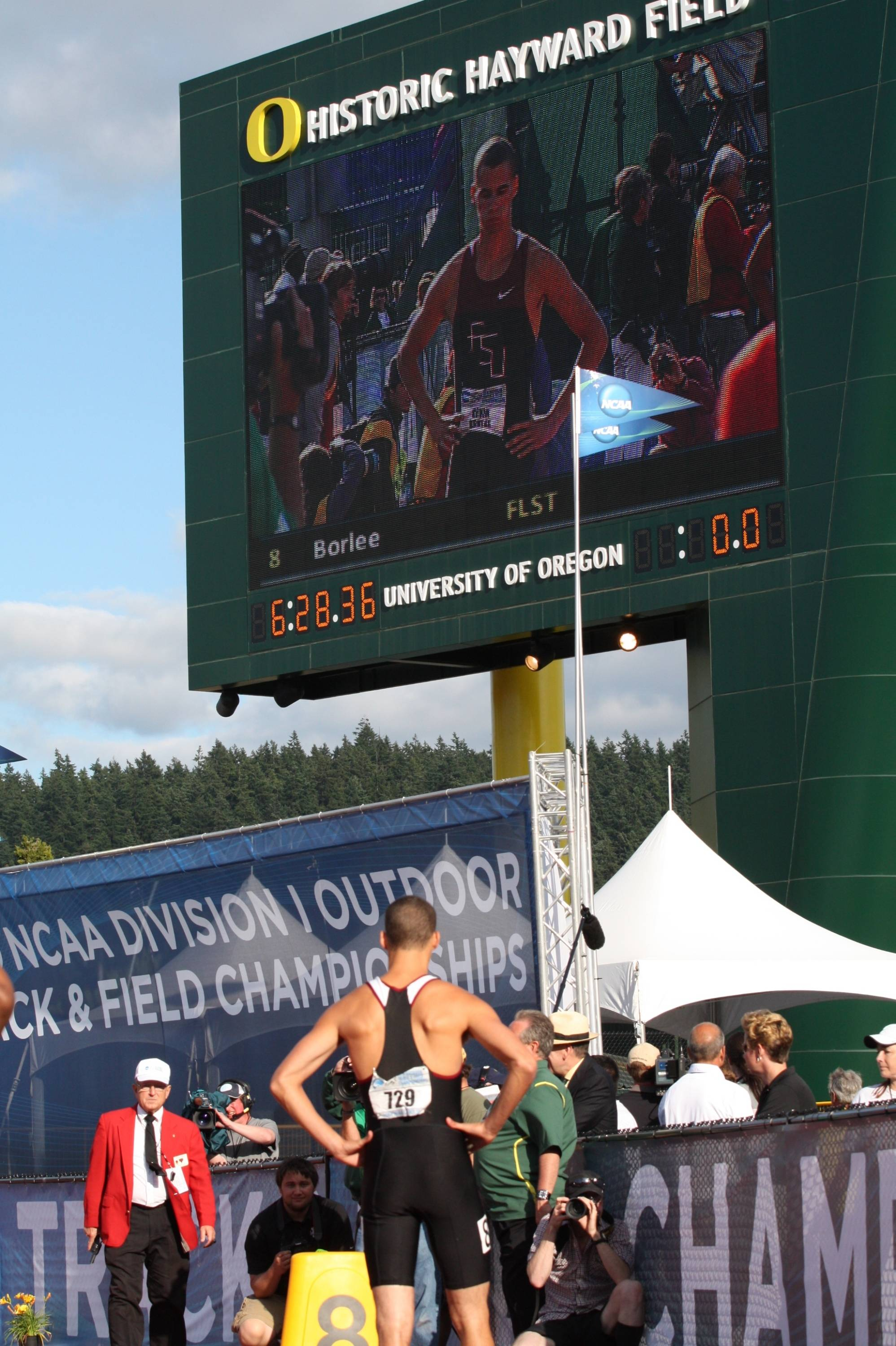 The third day of the 2010 NCAA Outdoor Championships.
