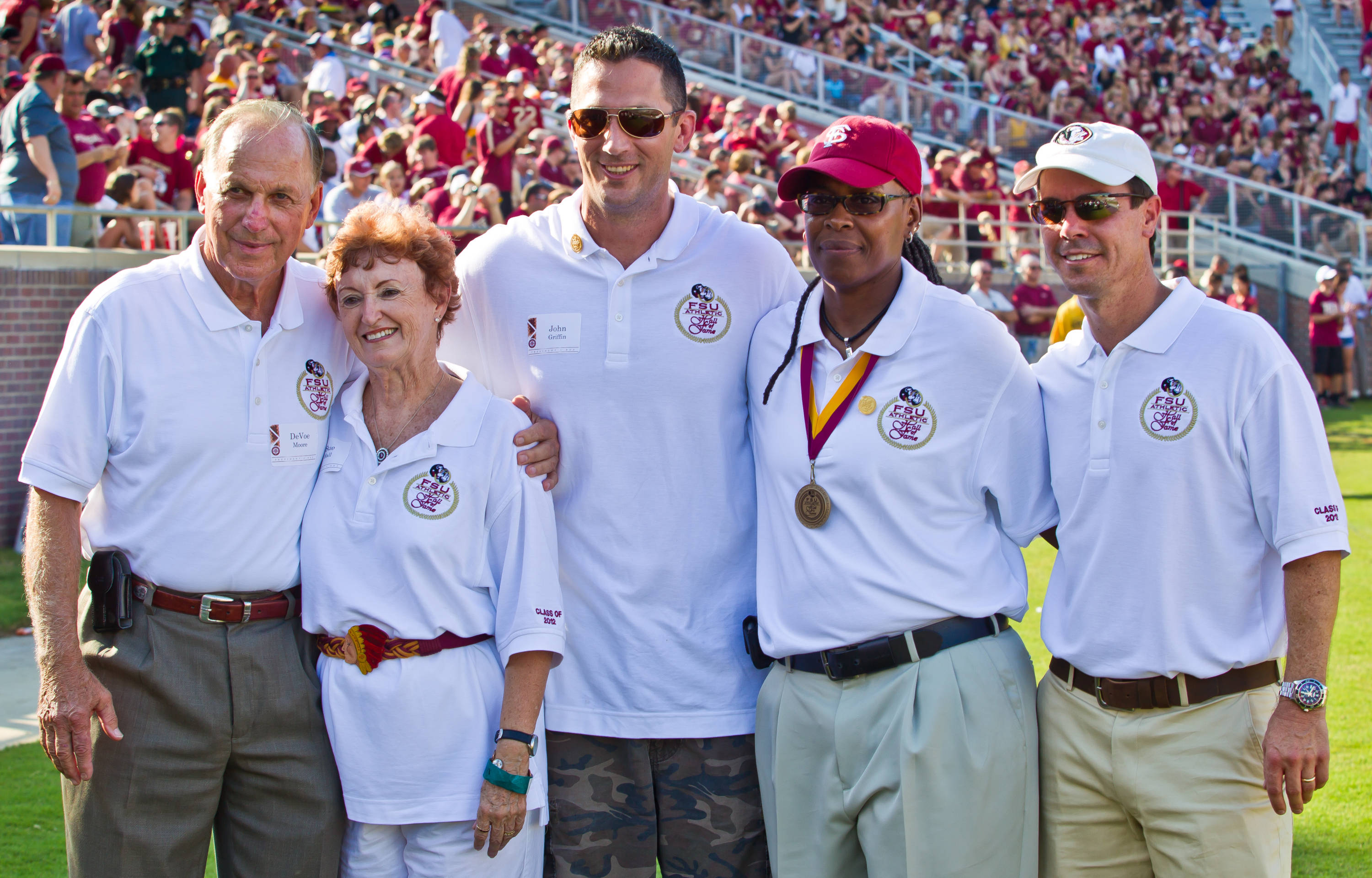 2012 Athletics Hall of Fame Class