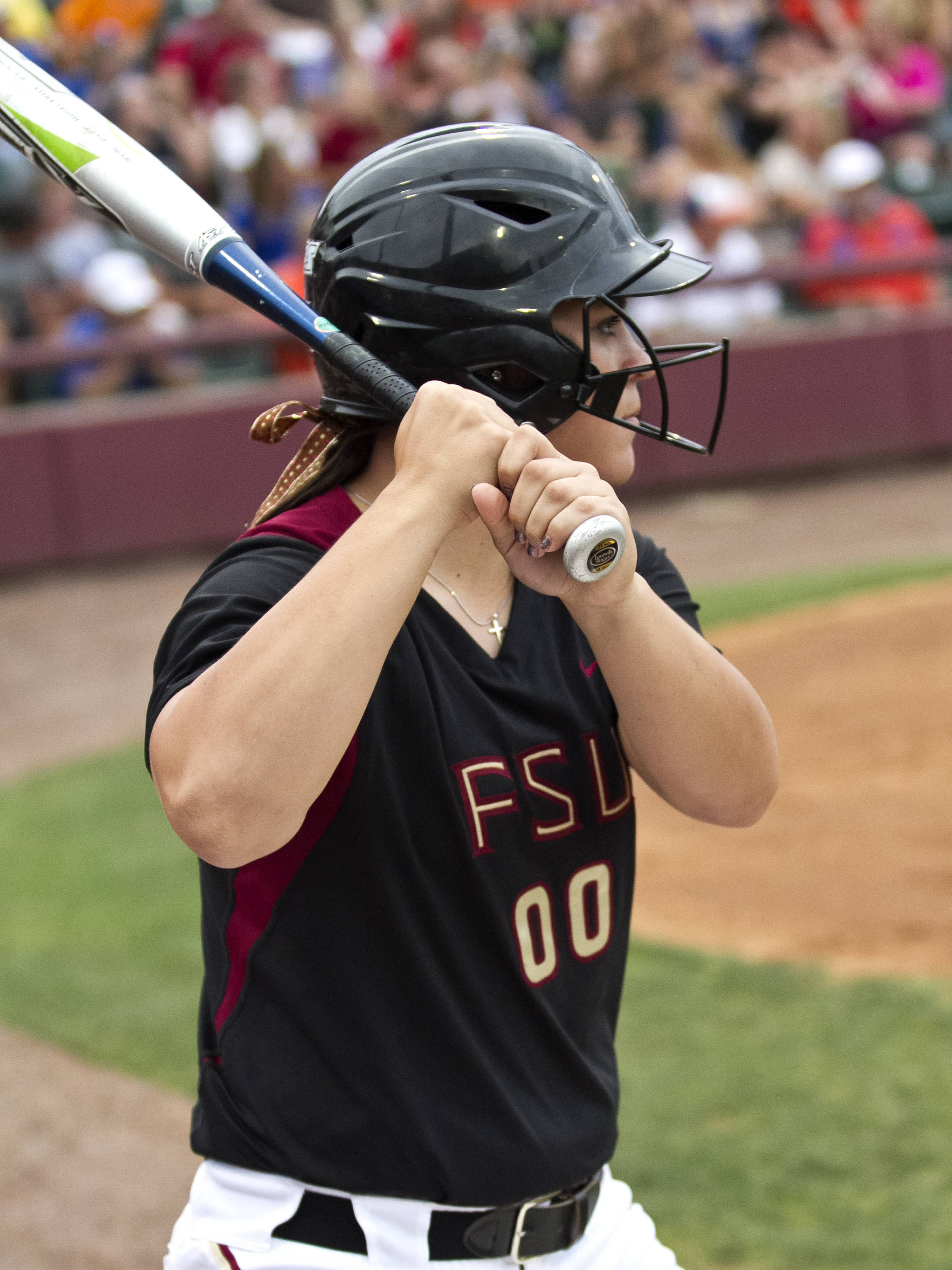 Celeste Gomez, FSU Softball vs FLA  04/02/2012