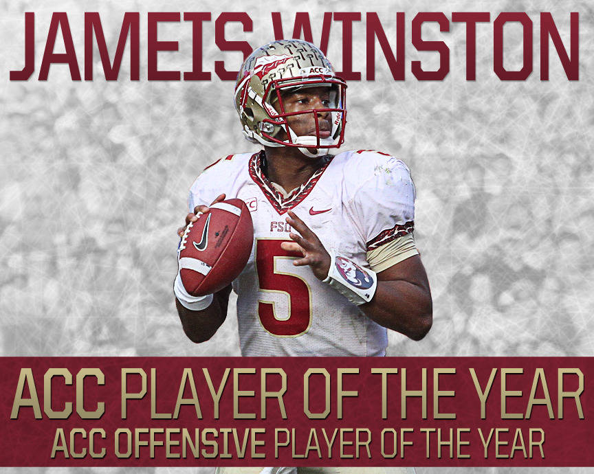 Jameis Winston ACC Player of the Year story graphic
