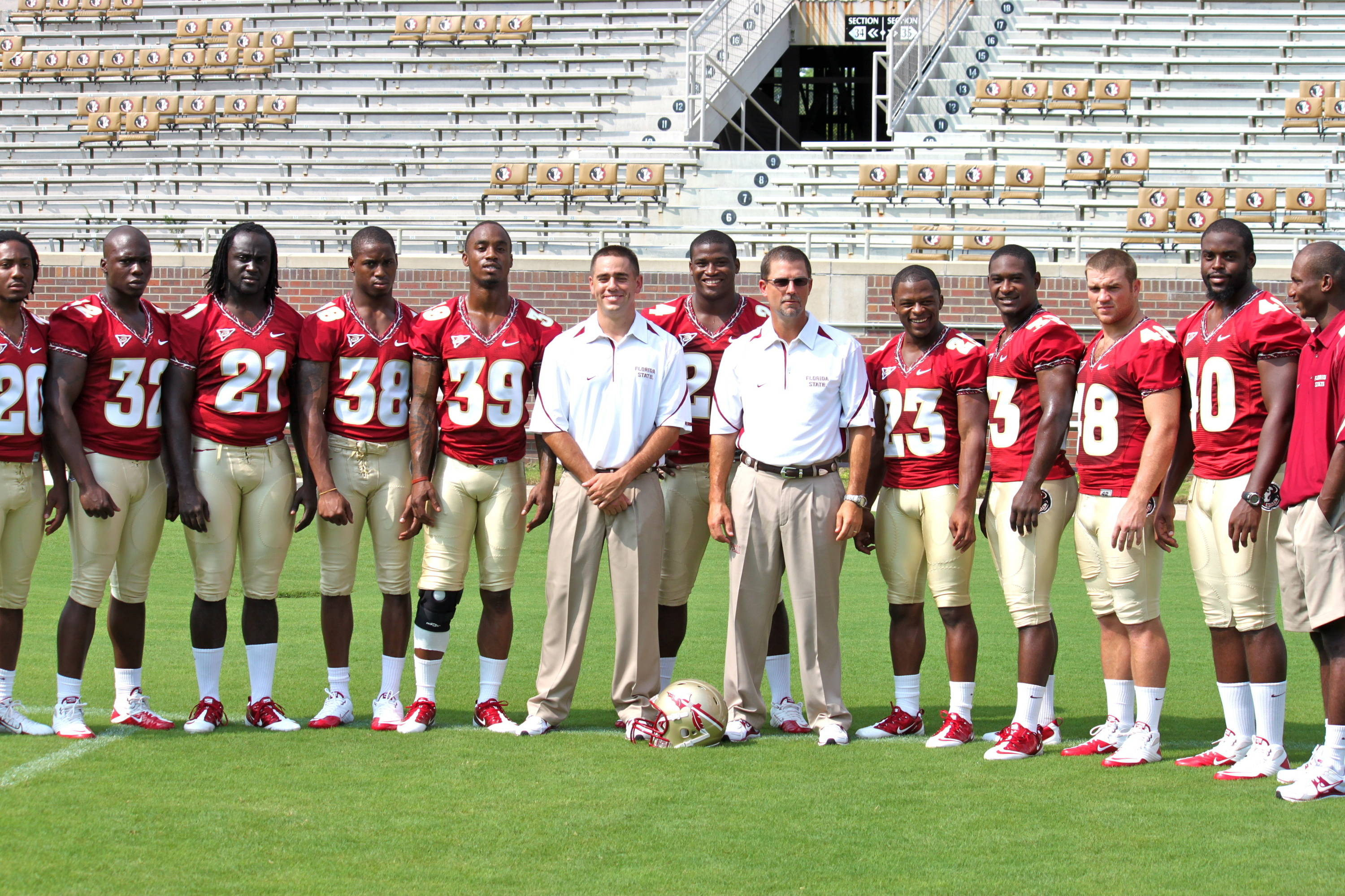 The Florida State running backs.