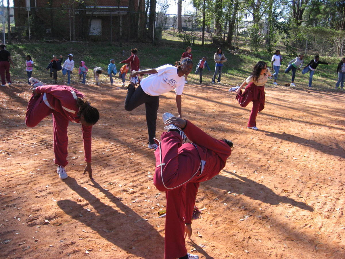 Nearly 200 children at the Boys and Girls Club of the Big Bend received a spring training session from Florida State University&acirc;?<sup>TM</sup>s Track and Field Team on March 5th.