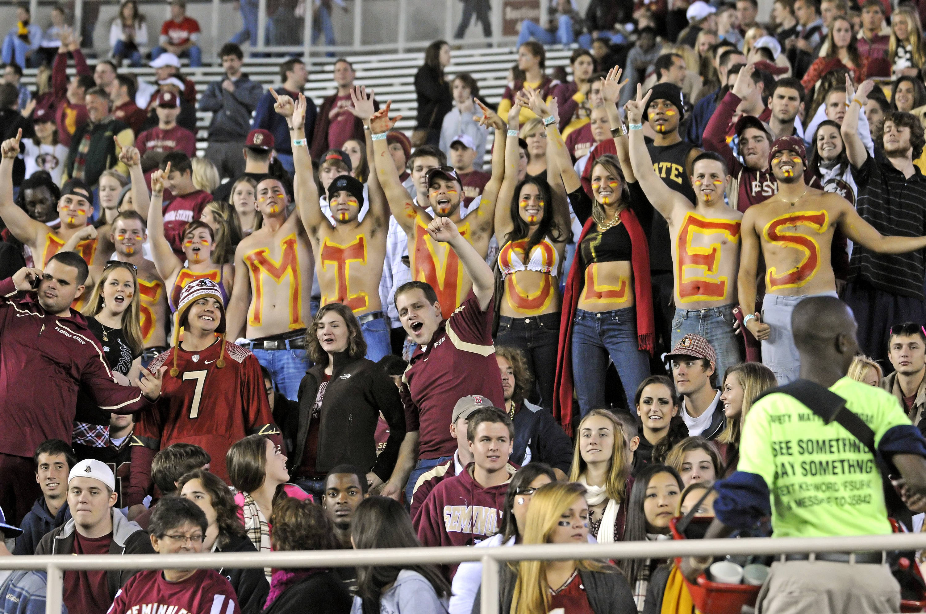 Seminole fans pumped for Saturday night's game