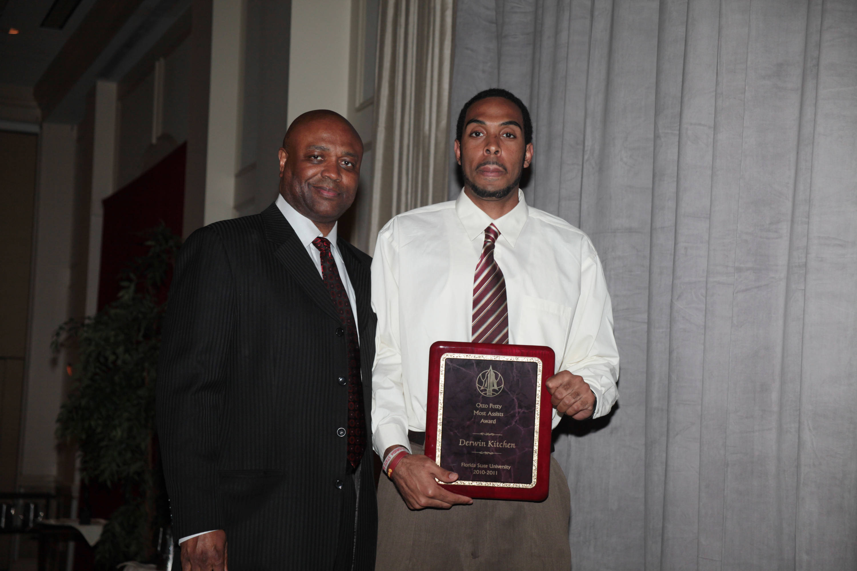 2011 Men's Basketball Banquet - Derwin Kitchen