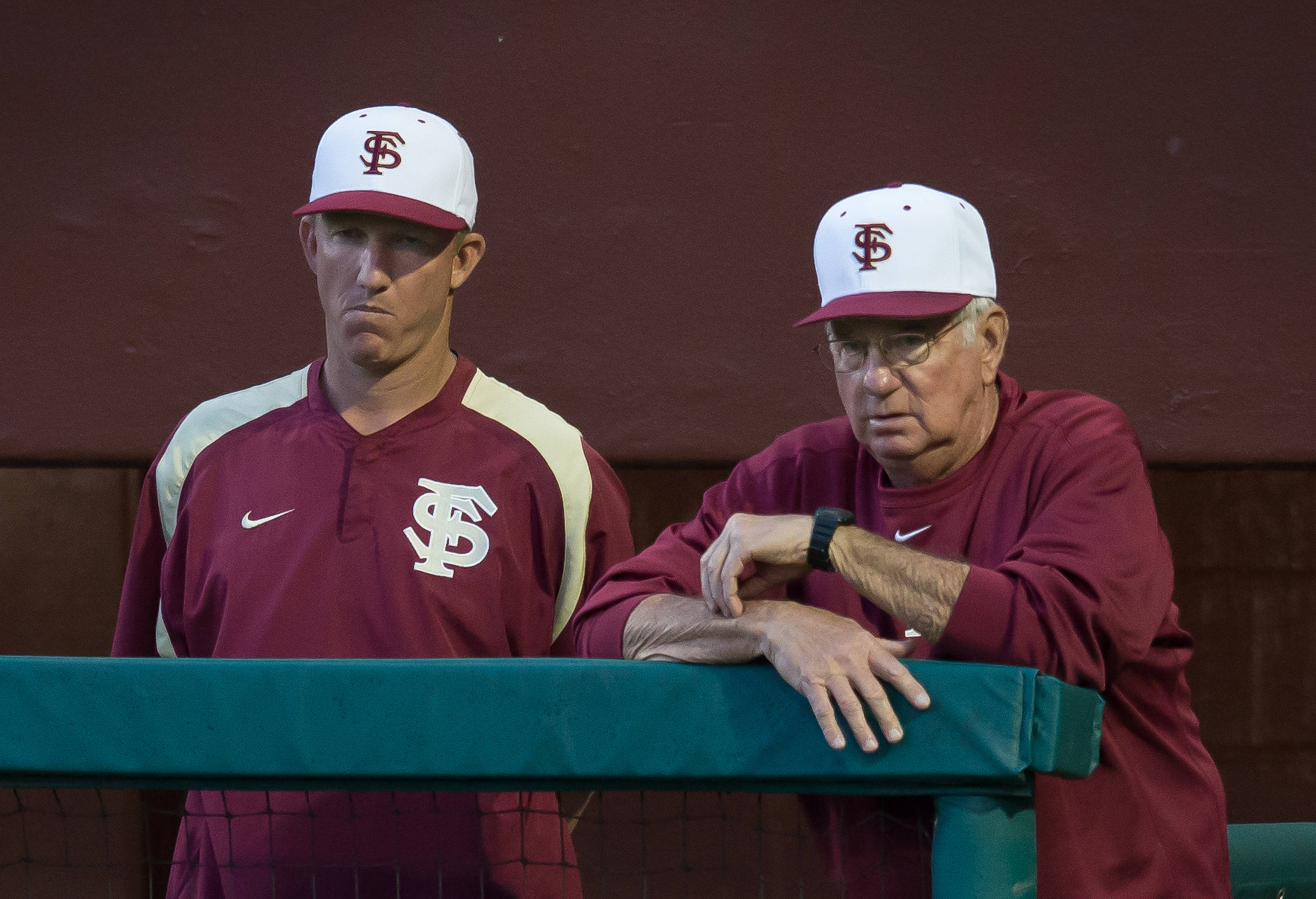 Mike Bell (22) and Mike Martin (11)