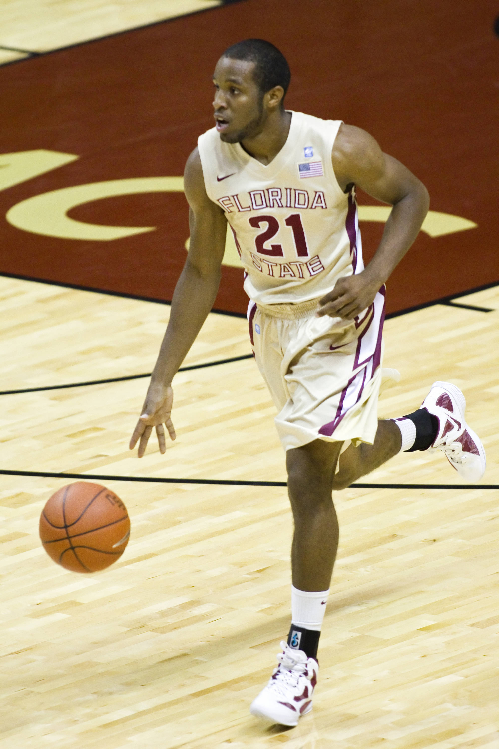 Michael Snaer (21), FSU vs So. Alabama, 11/20/2011