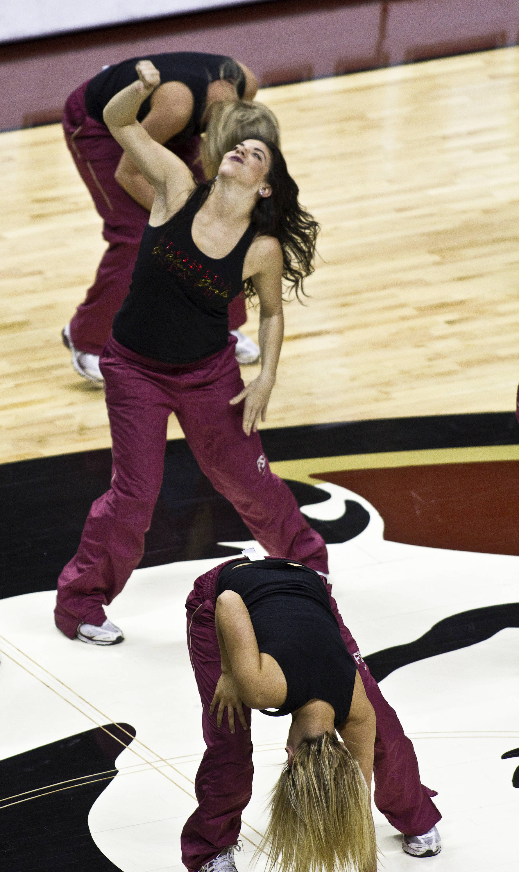 FSU vs North Carolina- 02//02/11 - FSU Golden Girls