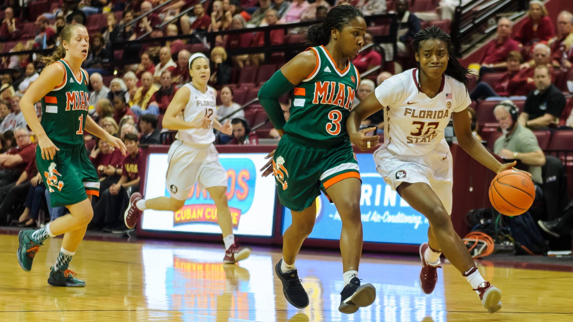 On Feb. 6, FSU defeated Miami to win its seventh straight vs. AP Top 25 teams.