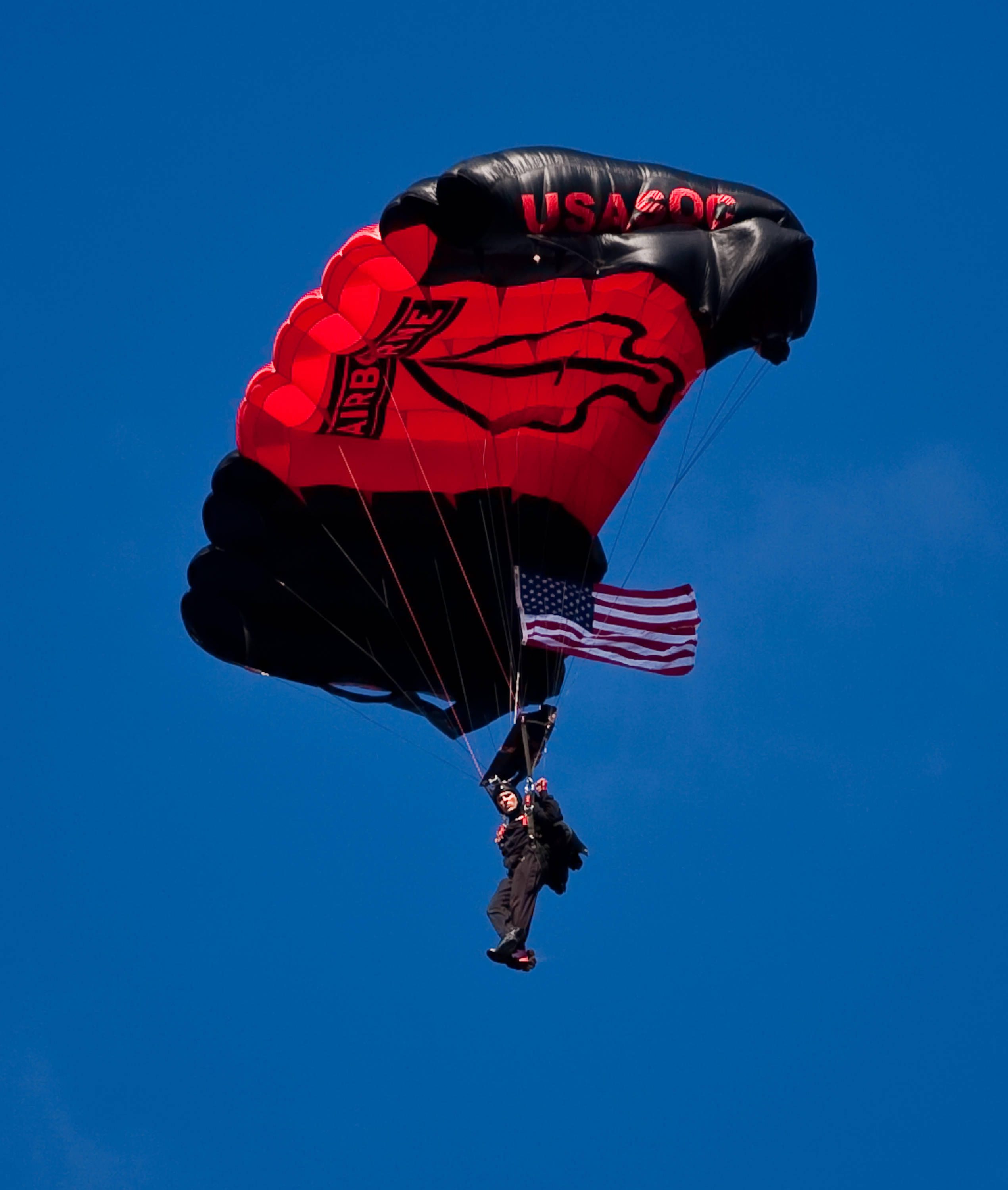 Army Black Dagger parachute team