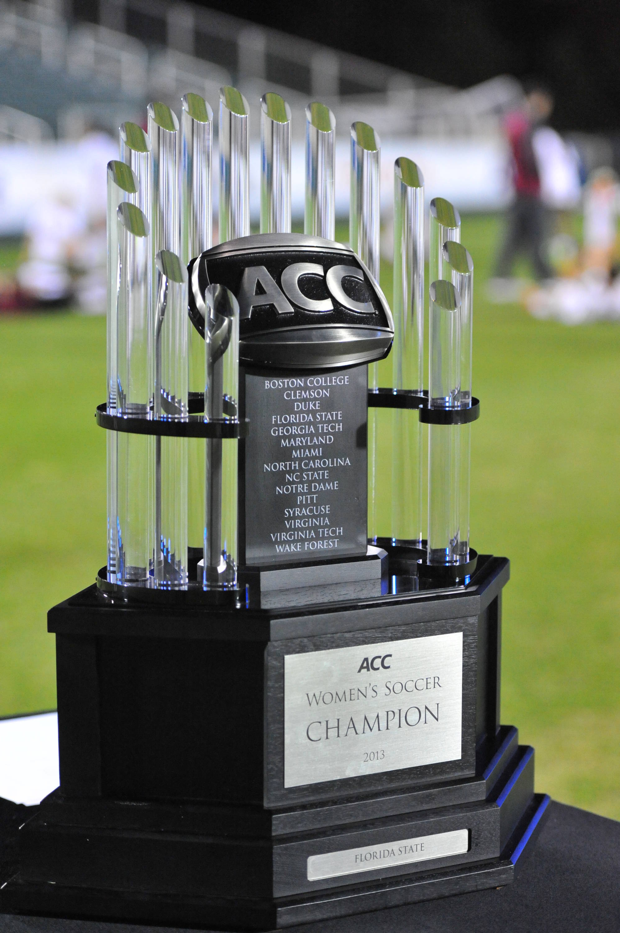 2013 ACC Championship Trophy belongs to the Florida State Seminoles!