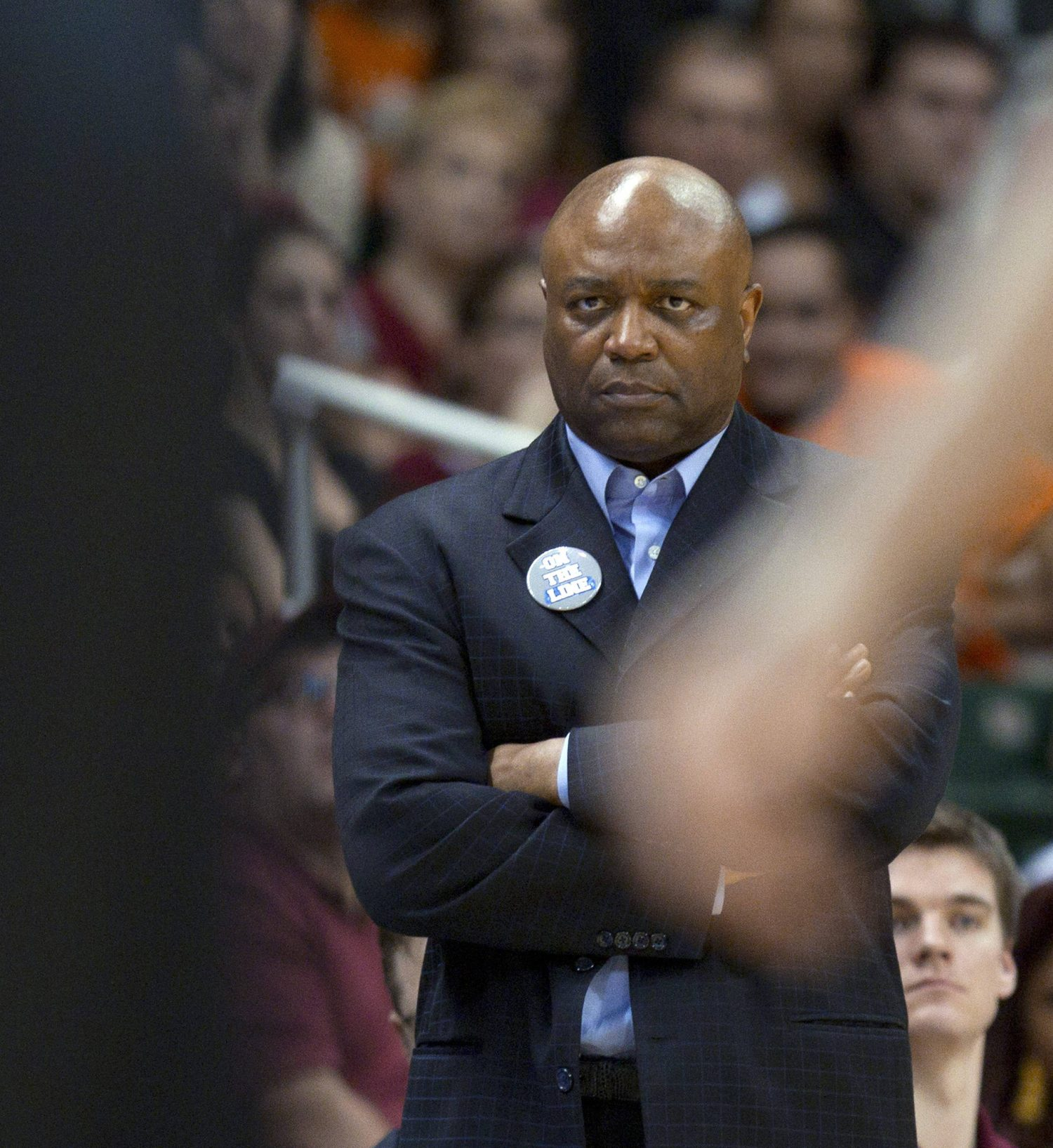 Florida State coach Leonard Hamilton watches Miami score during the second half of an NCAA college basketball game in Coral Gables, Fla., Sunday, Feb. 26, 2012, against Miami. Miami defeated Florida State 78-62. (AP Photo/J Pat Carter)