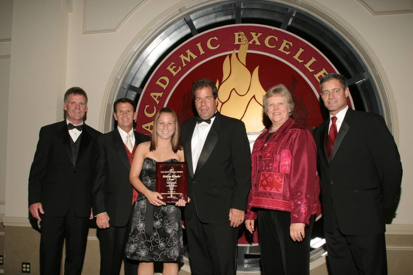 Soccer's 2006-07 Golden Torch Award winner, Melissa Wheeler.